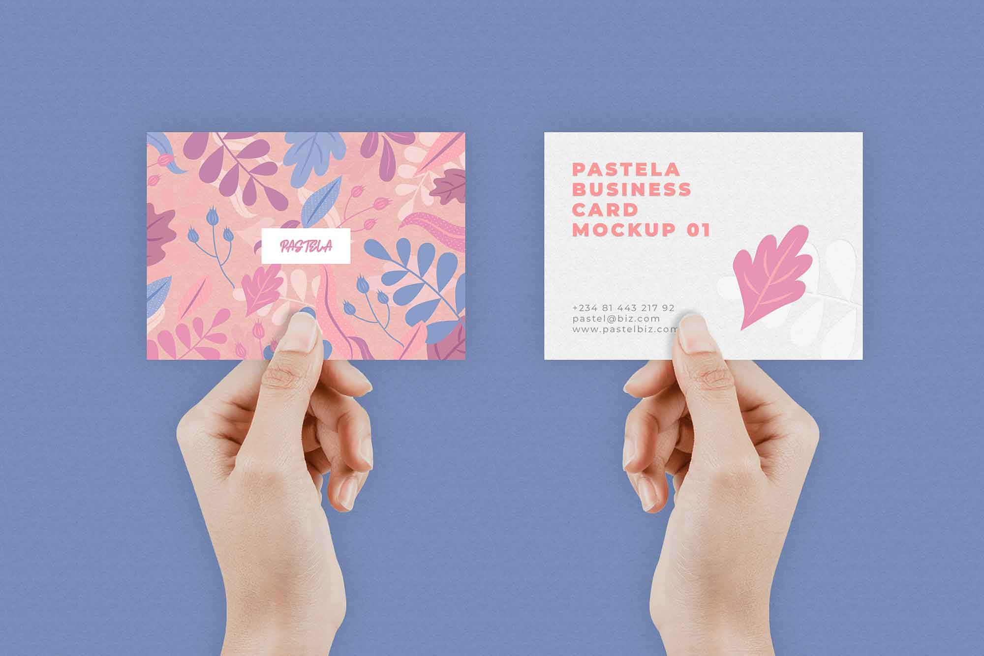 Business Card Mockup 9