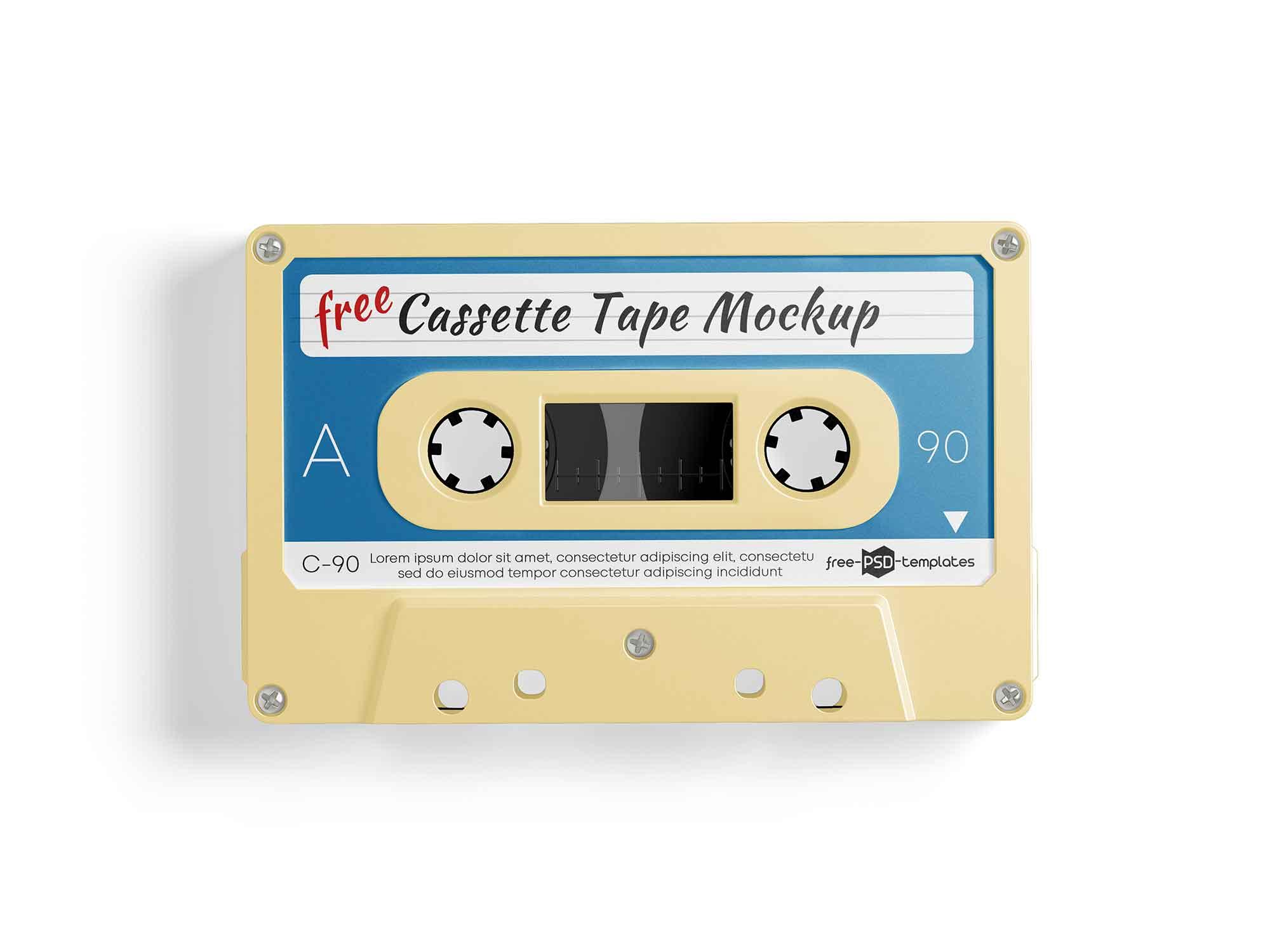 Cassette Tape Mockup 2