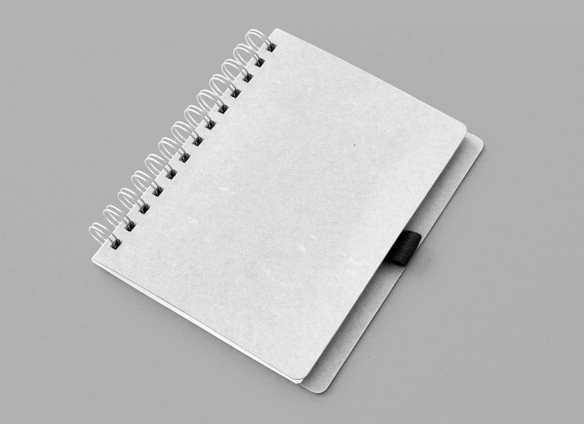 Clean Notebook Mockup 2