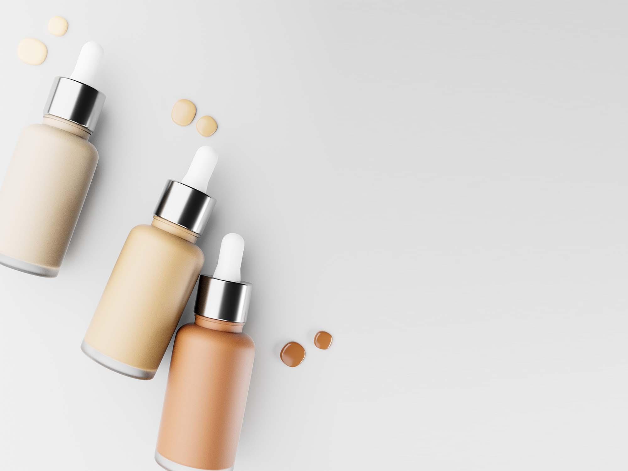 Cosmetic Dropper Mockup 2