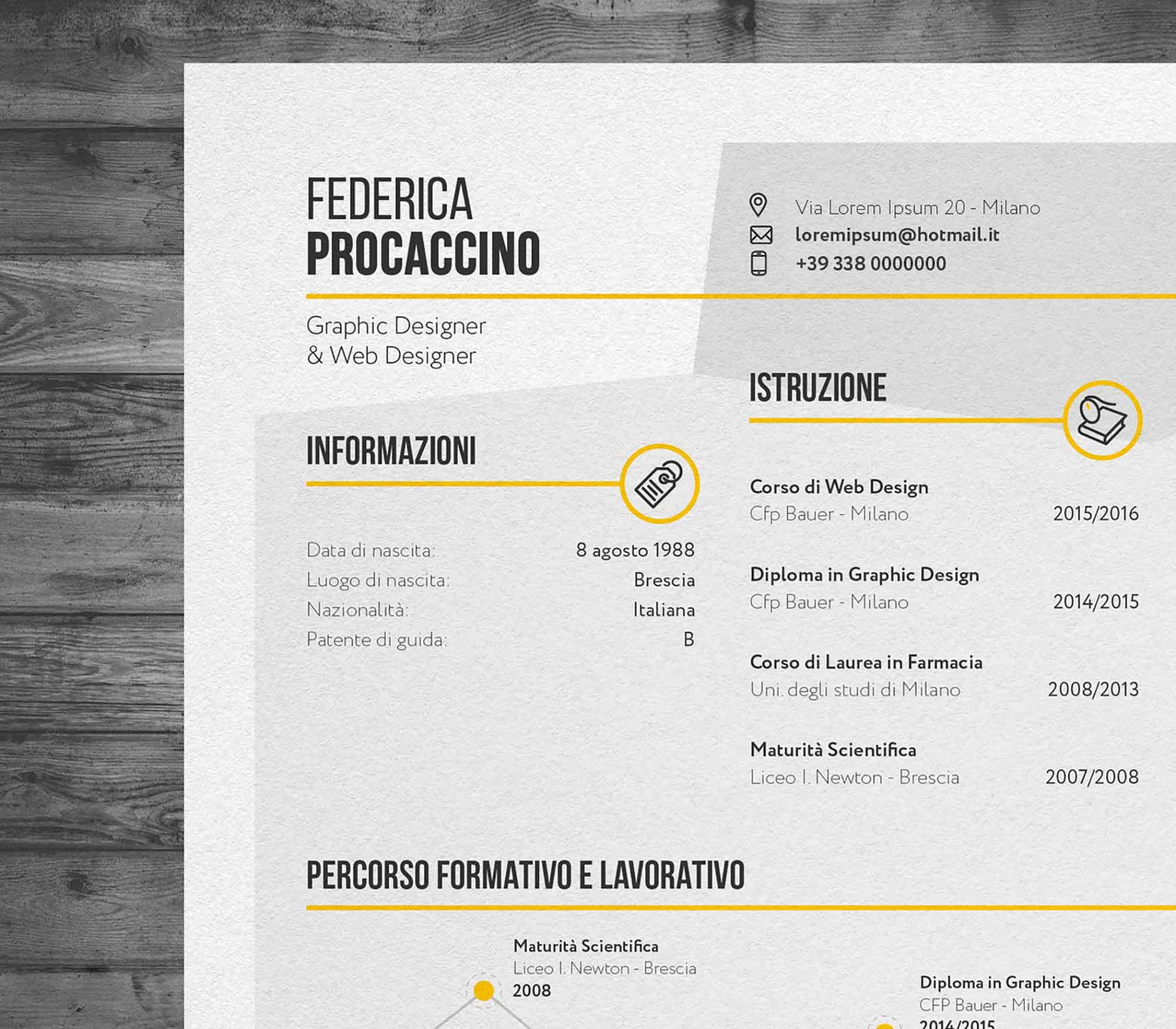 Creative Resume Template 2