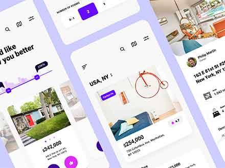 Experimental Real Estate App Template
