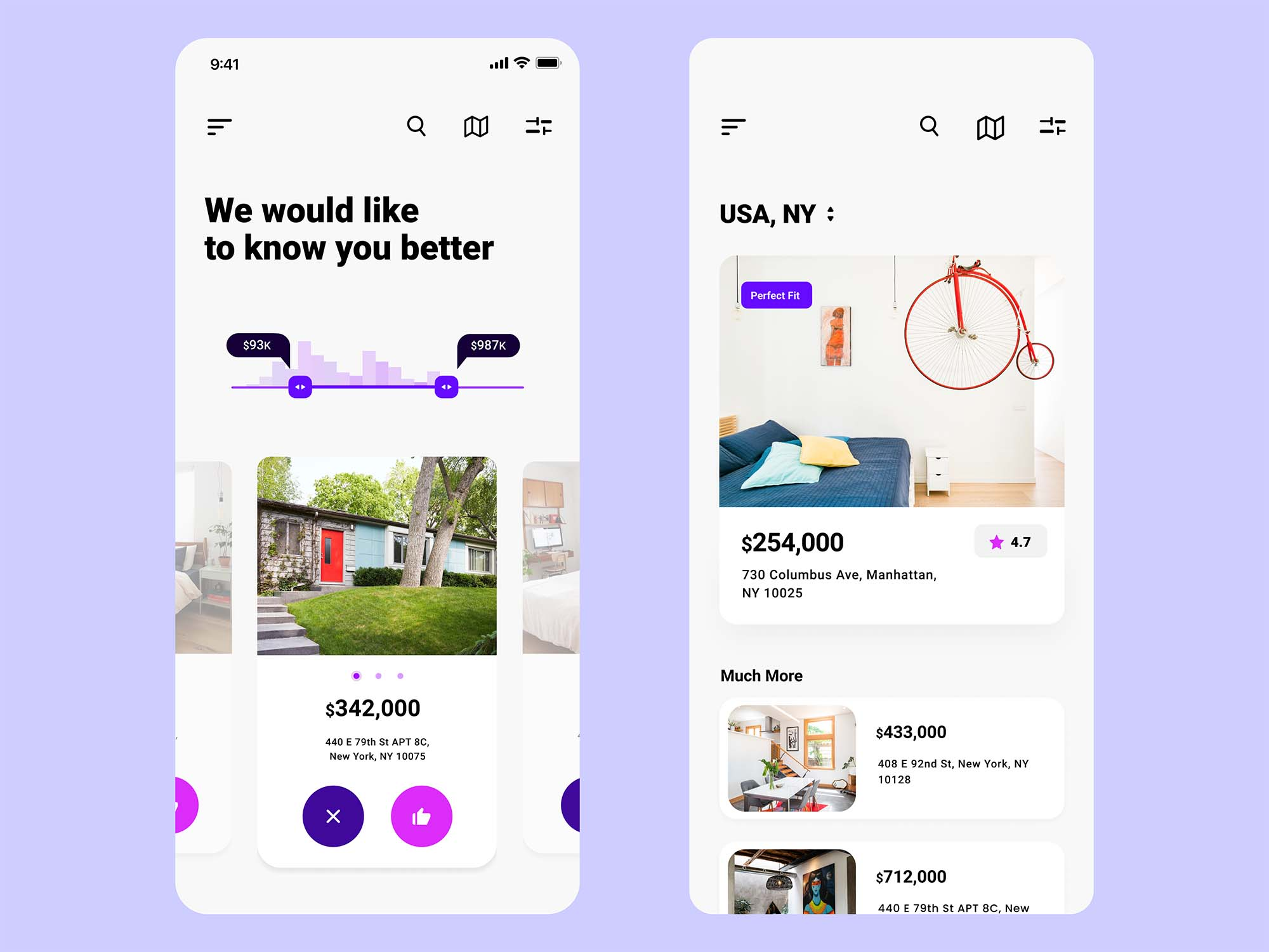 Experimental Real Estate App Template 2