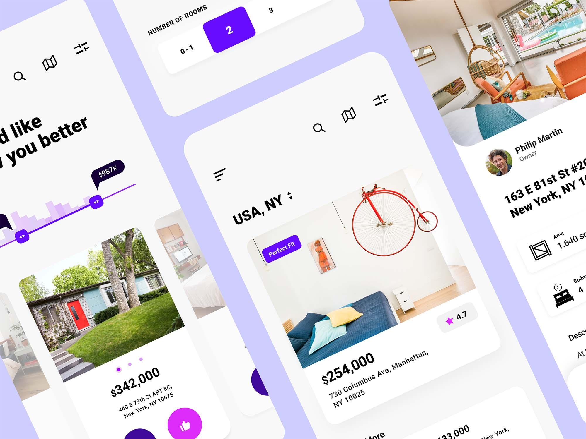 Experimental Real Estate App Template