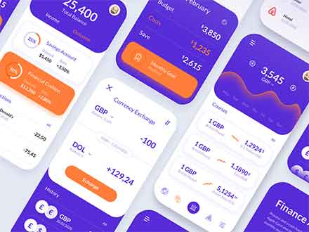 Finance Application Template