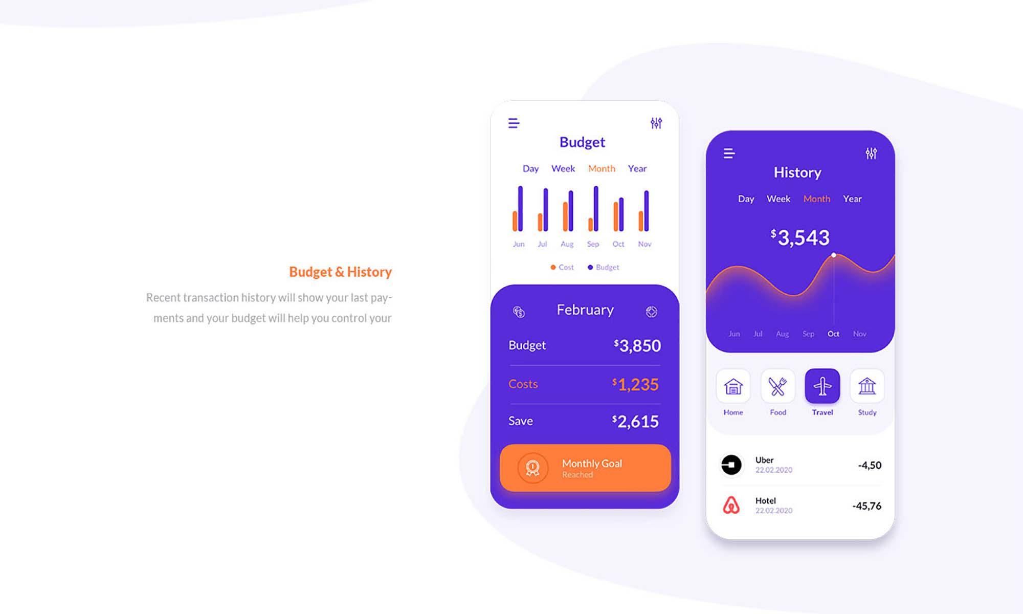 Finance Application Template 2