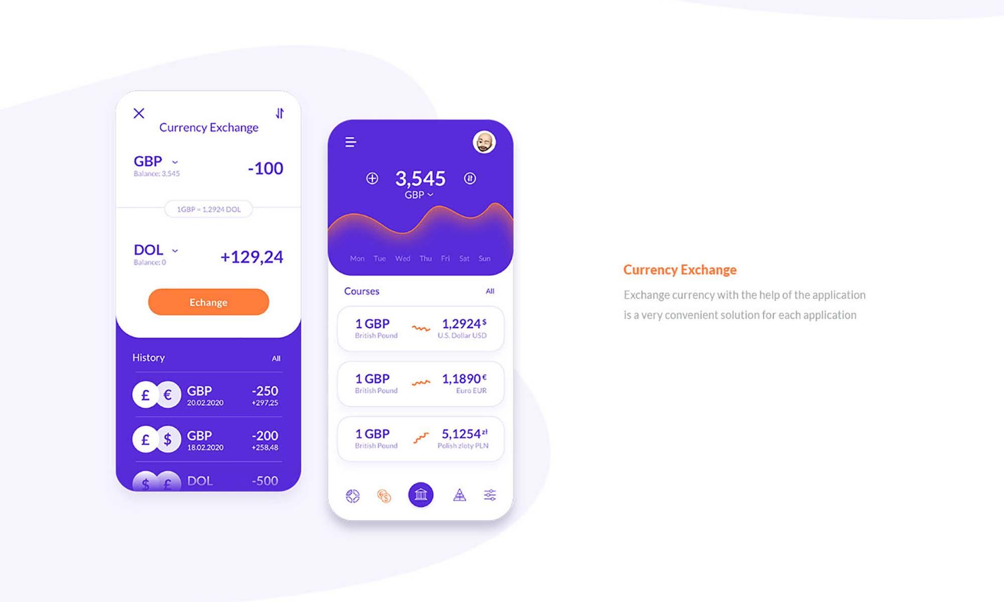 Finance Application Template 3