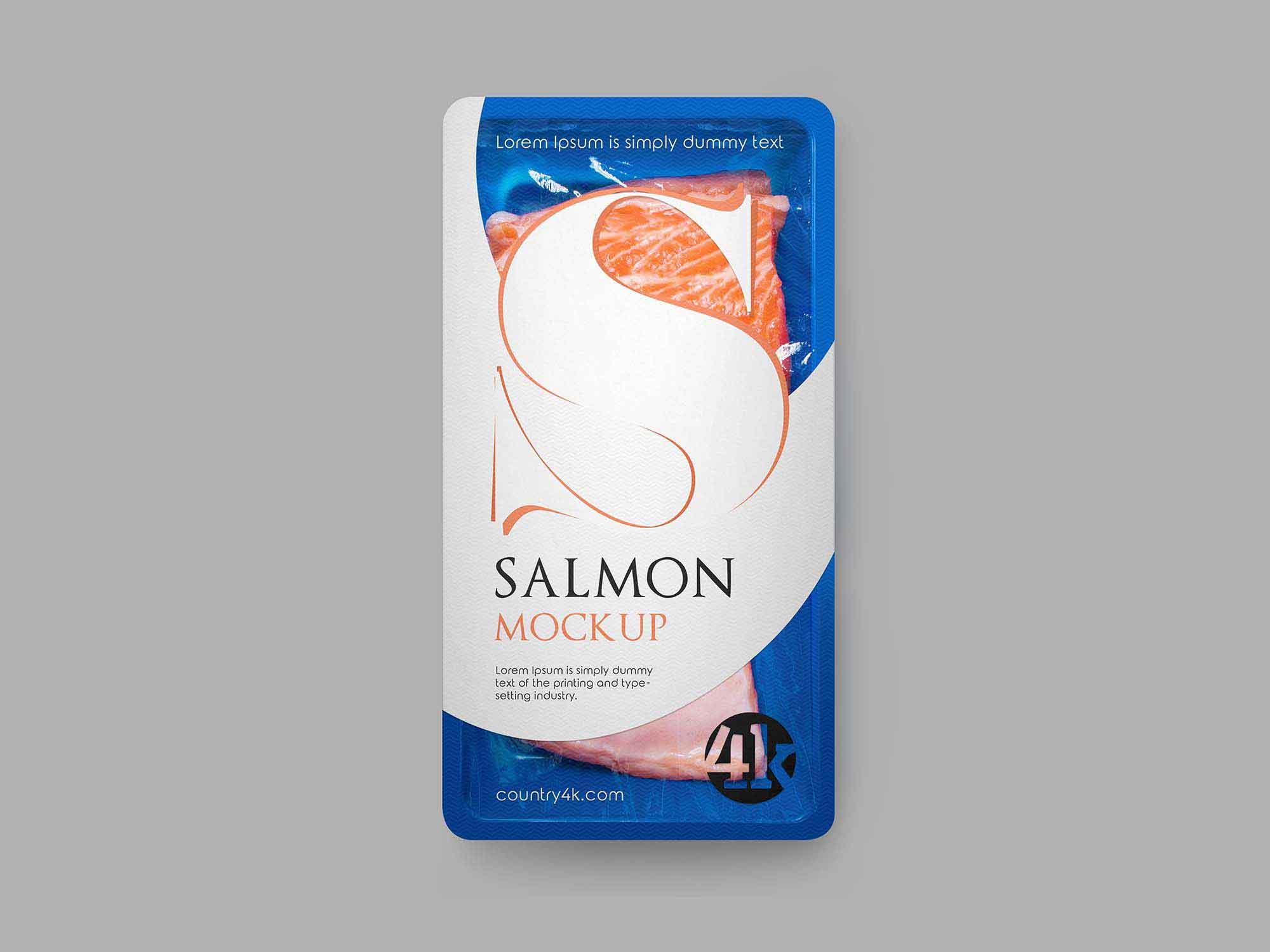 Fish Packaging Mockup