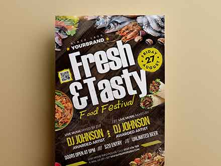 Food Festival Flyer Template