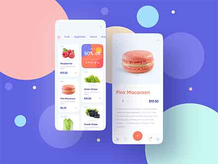 Foodstuffs Shopping Mobile App Template