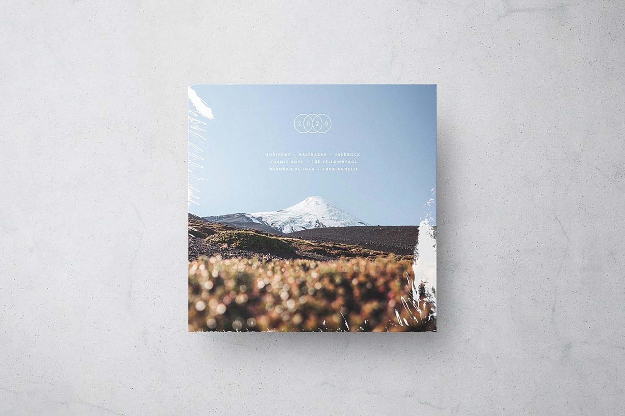 Vinyl Record Cover Mockup 5