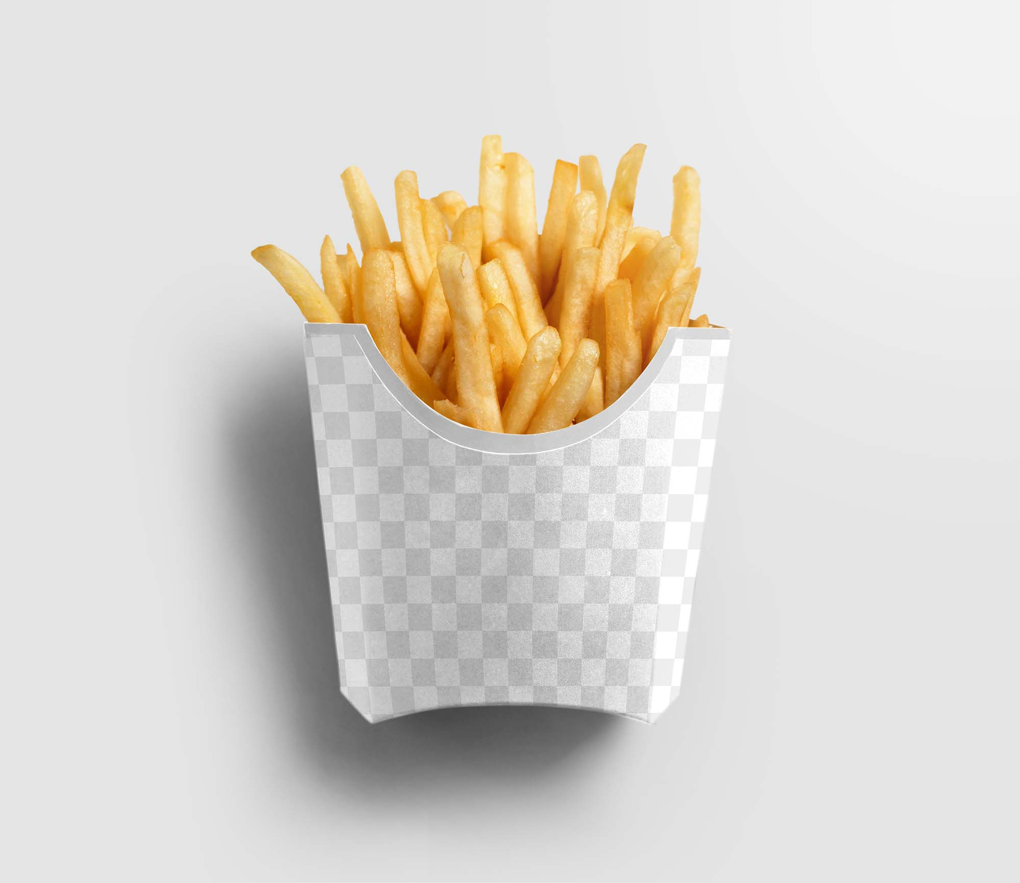 French Fries Packaging Mockup 2