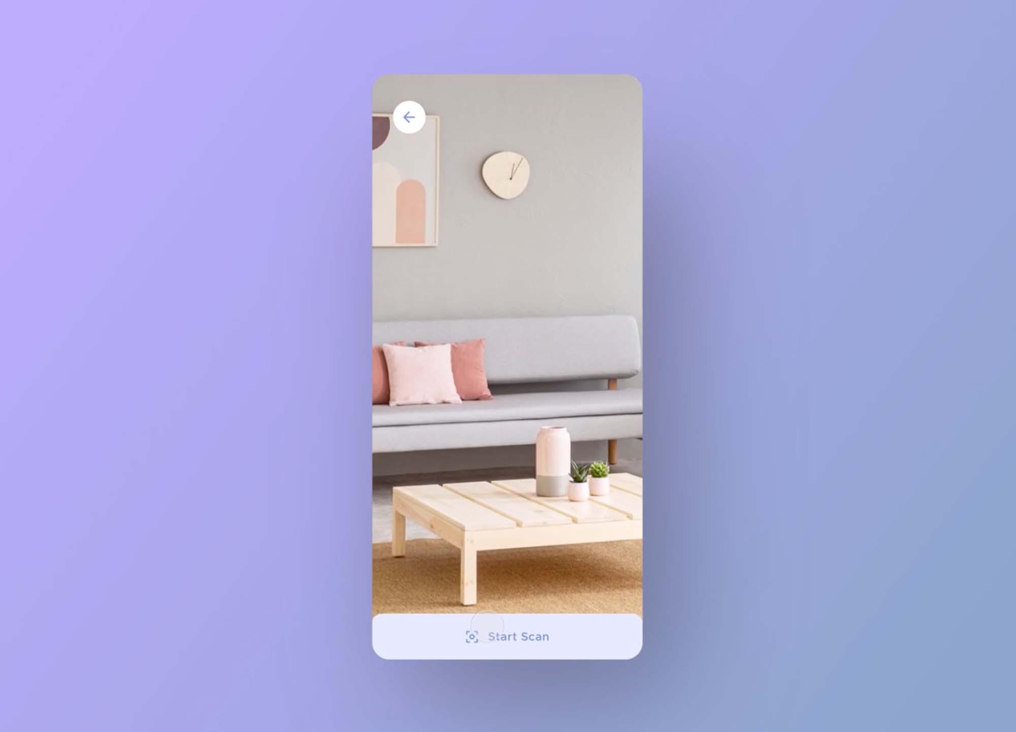 Furniture App UI Template 1