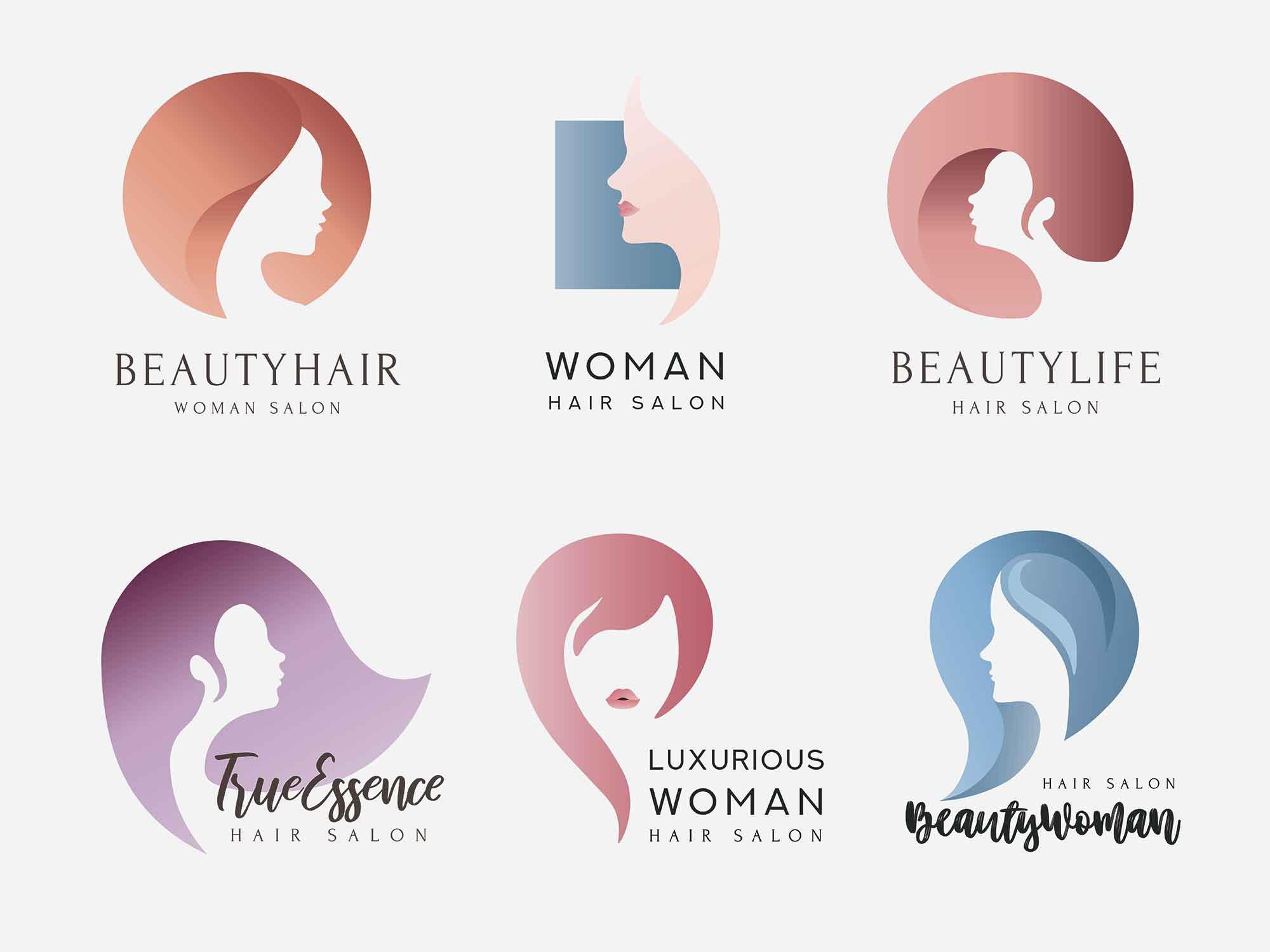 Hair Salon Logo Templates