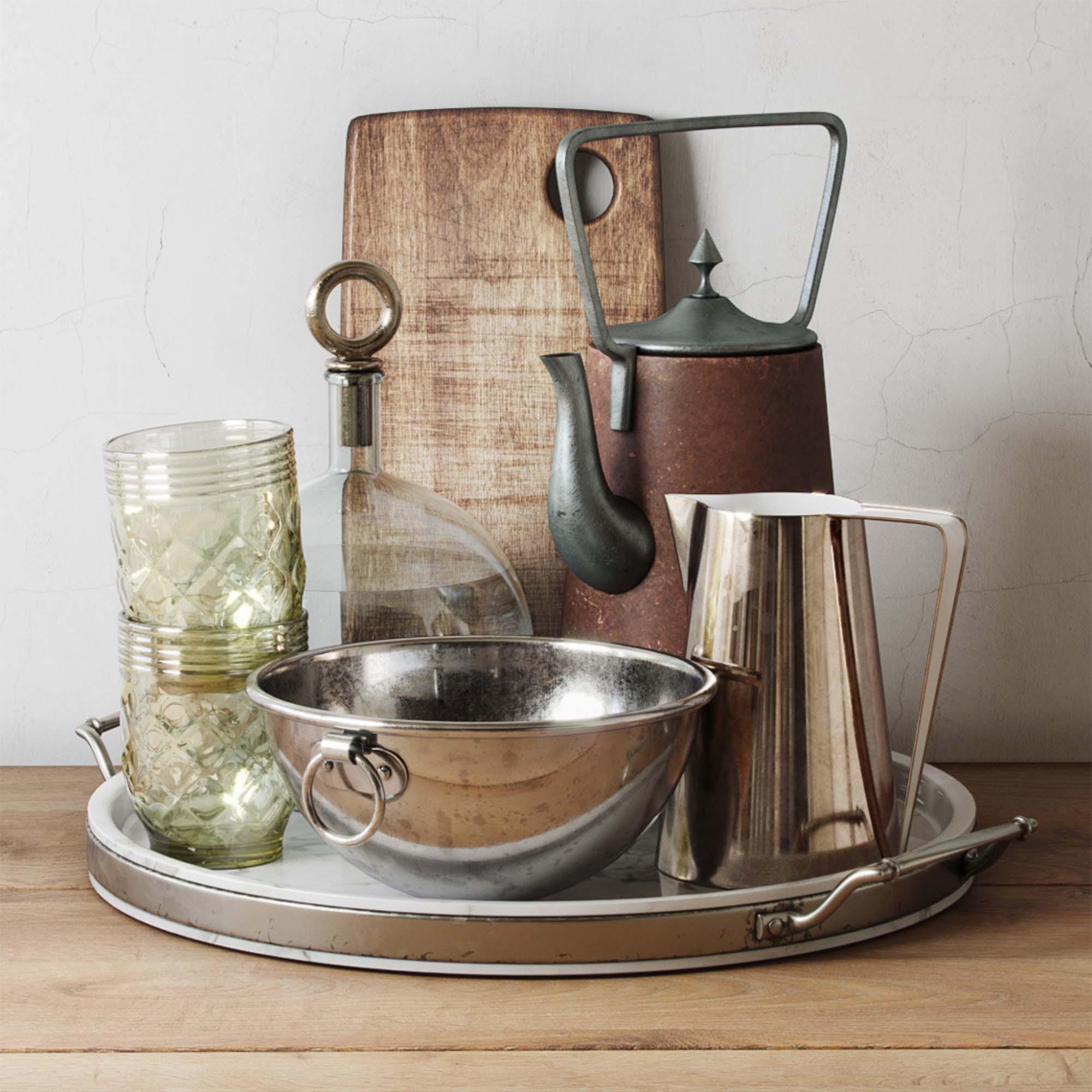 Kitchenware 3D Models