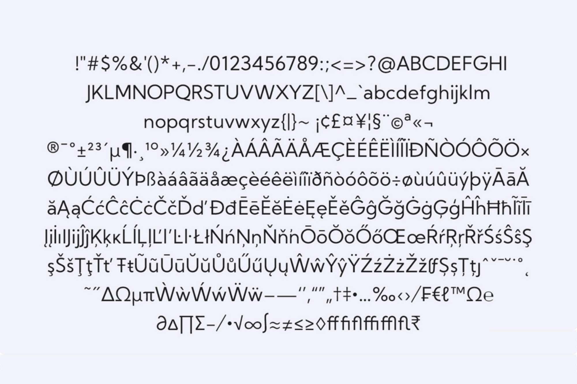 Kumbh Sans Typeface 2