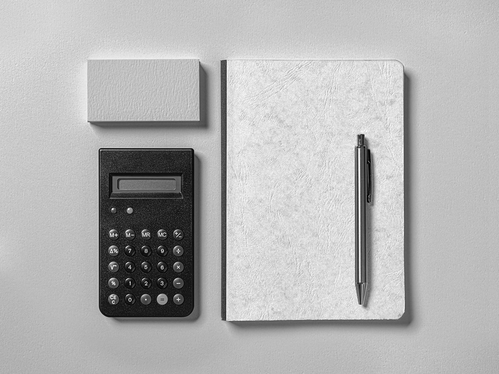 Leather Cover Notebook Mockup 2