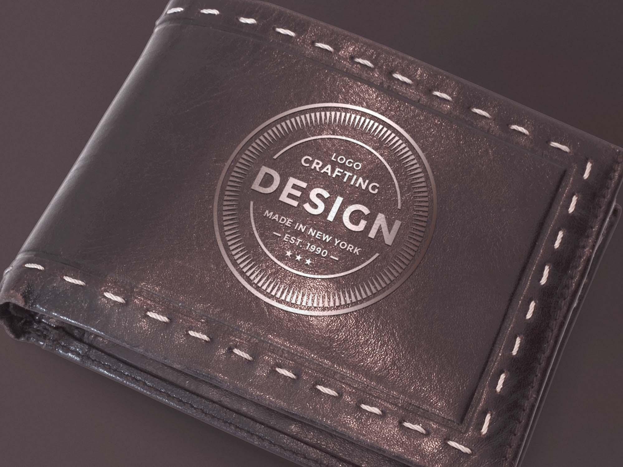 Leather Wallet Mockup