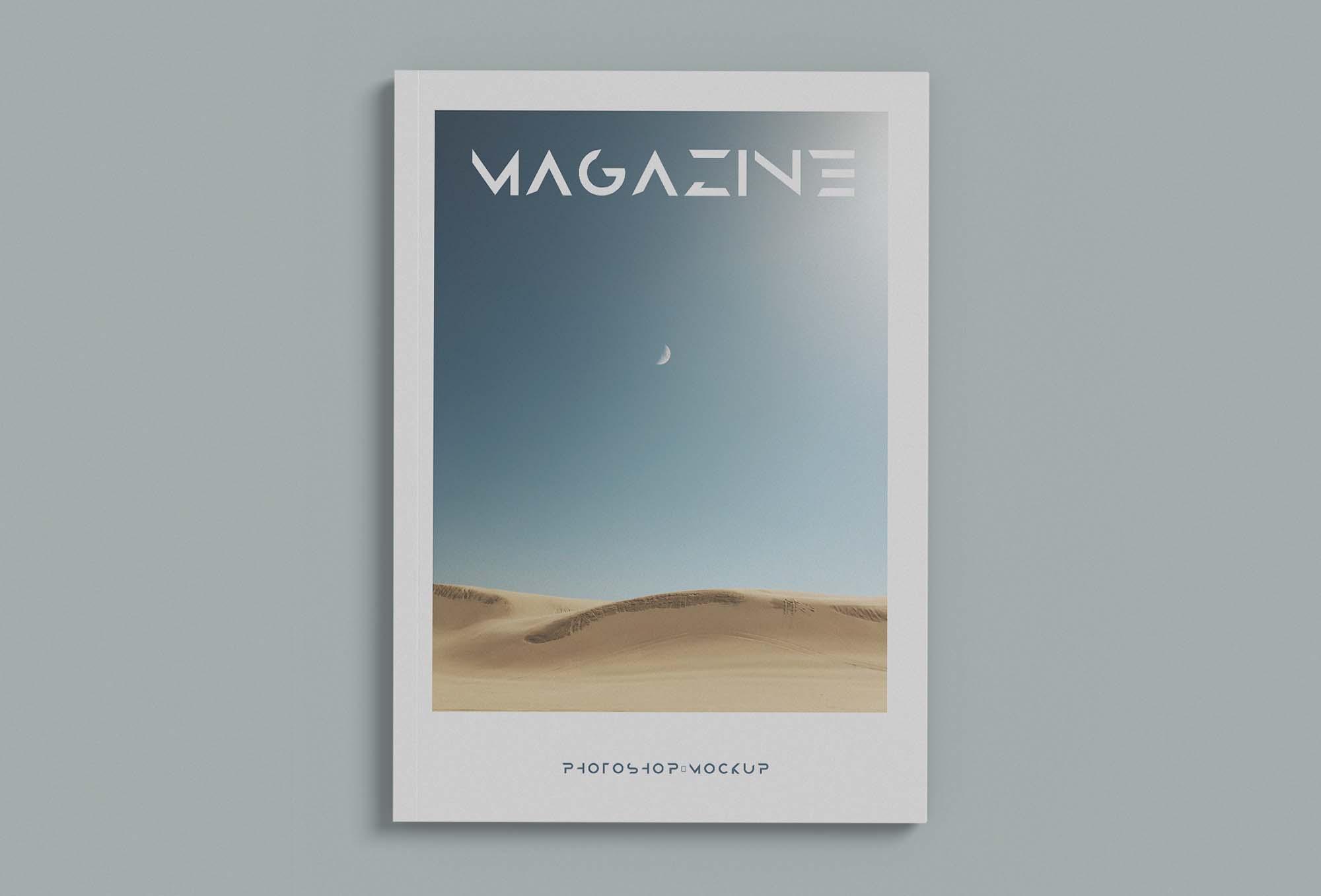 Minimalist Magazine Mockup 2