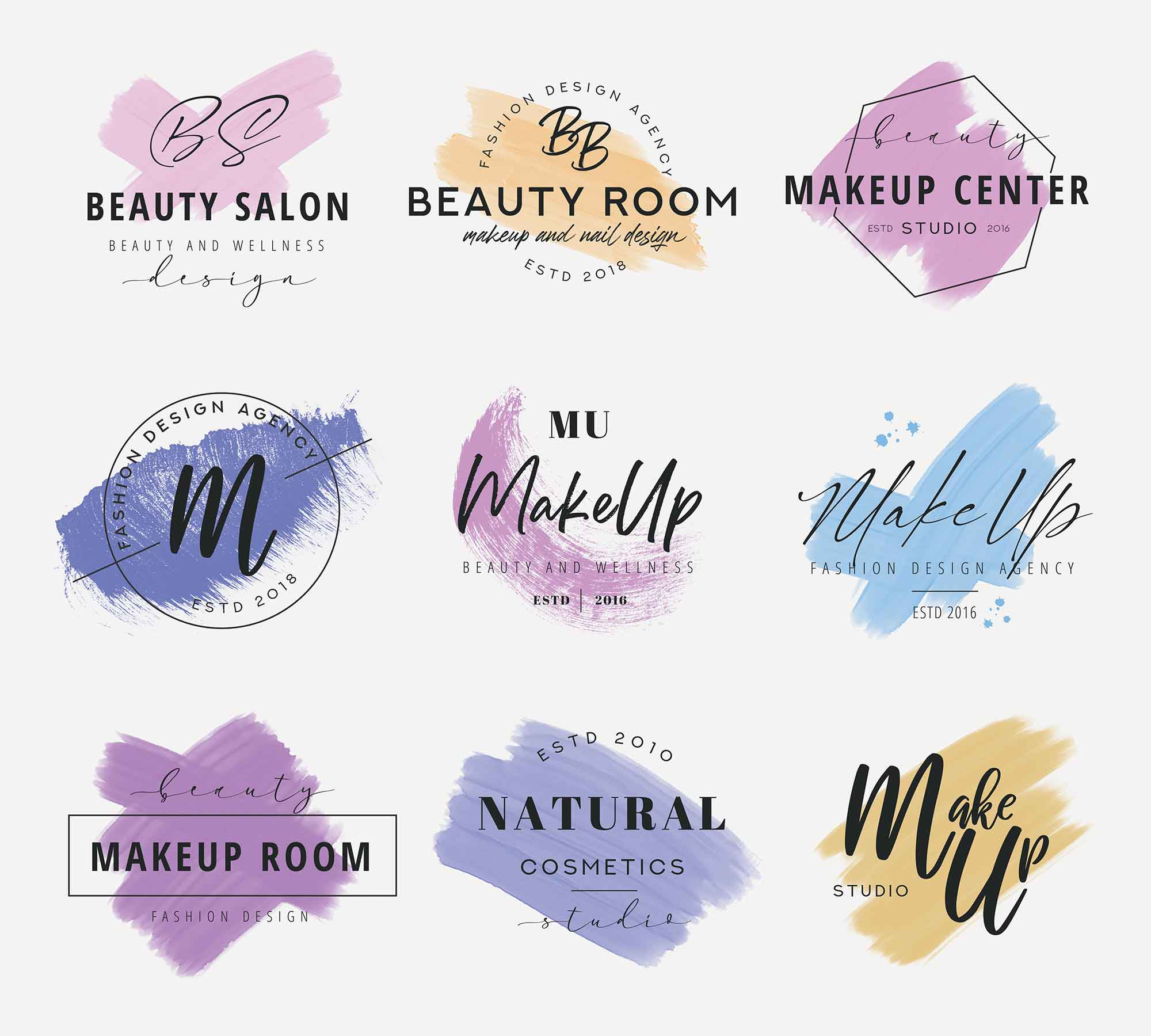 Makeup Logo Templates 3