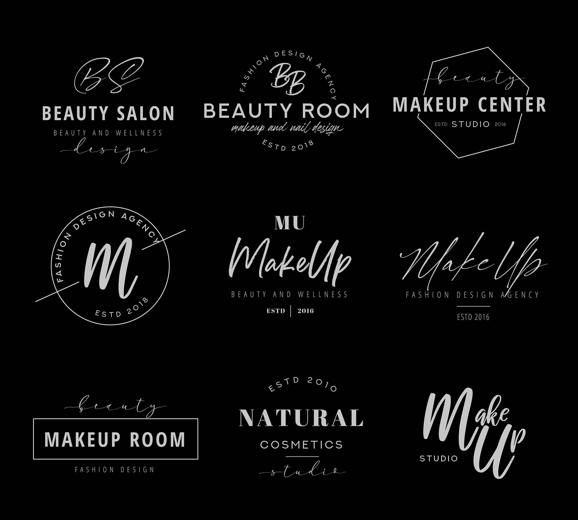 Makeup Logo Templates