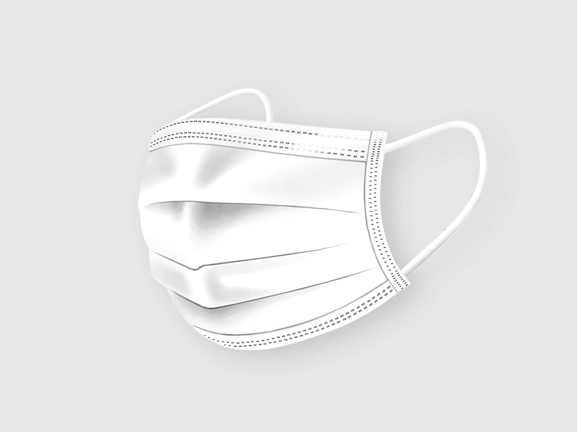 Medical Face Mask Mockup 2
