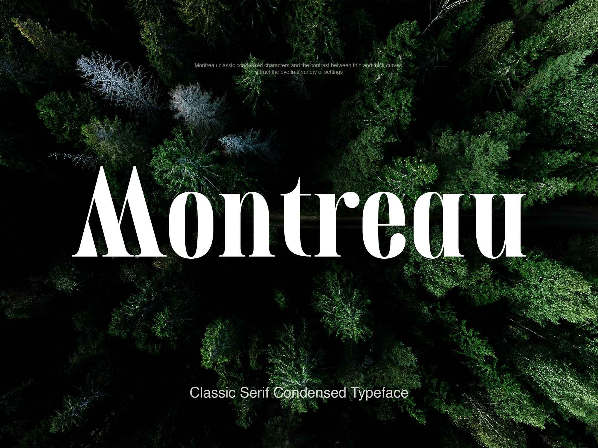 Montreau Serif Font