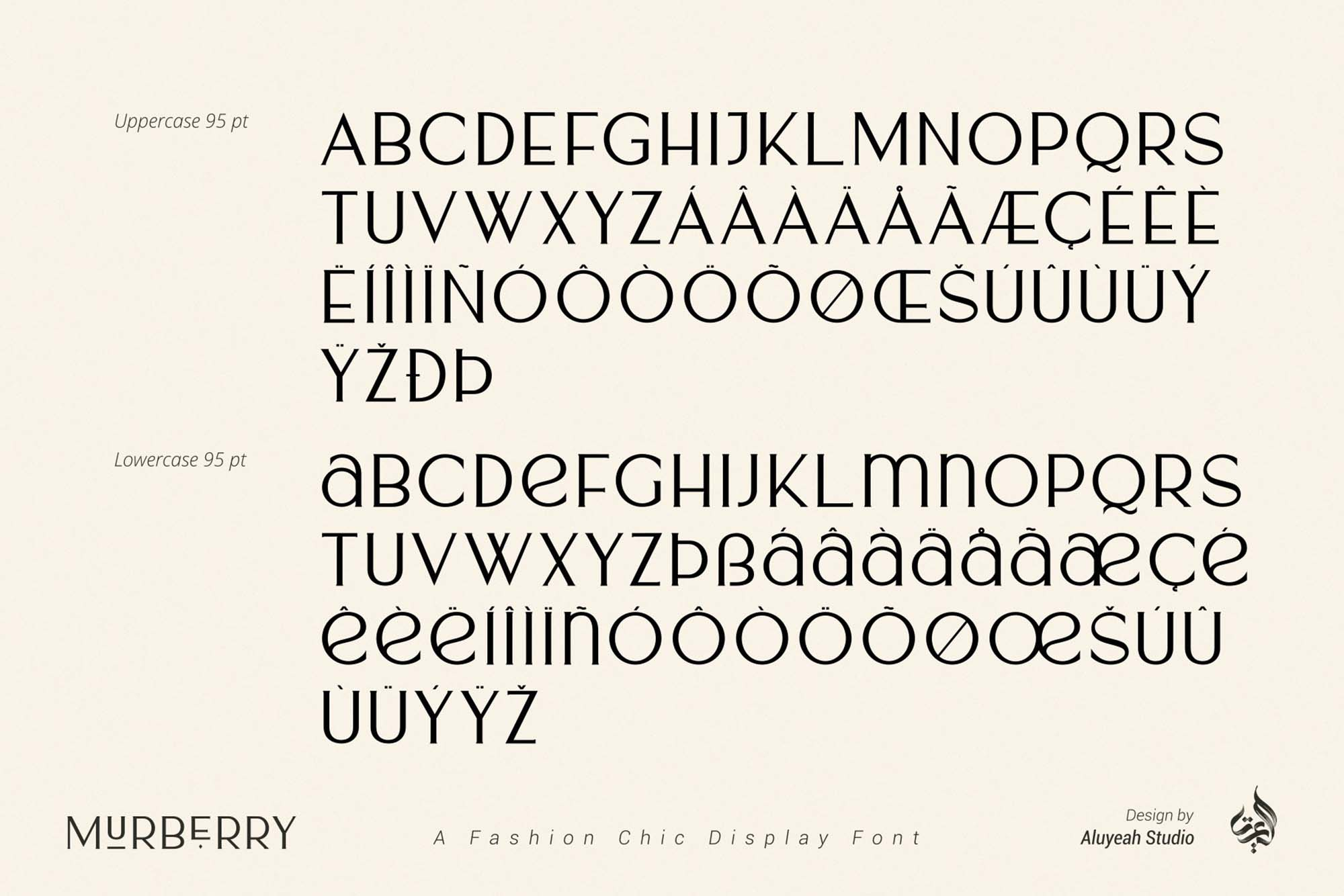 Murberry Fashion Font 8