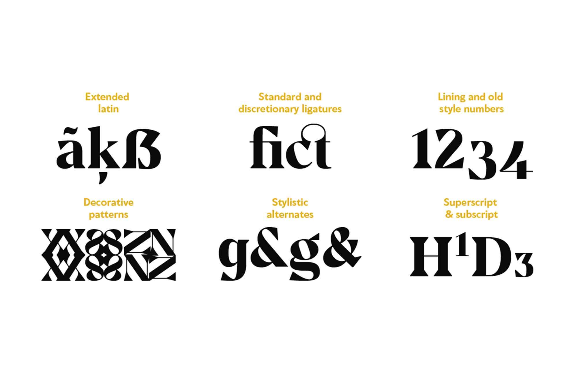 Noctis Classic Serif Font 7