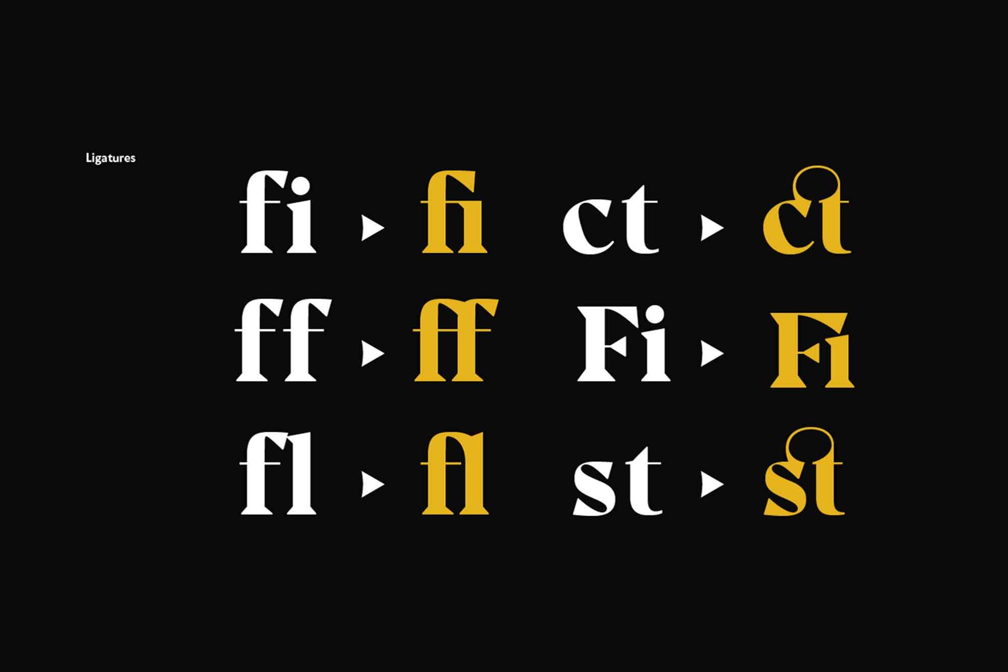 Noctis Classic Serif Font 9