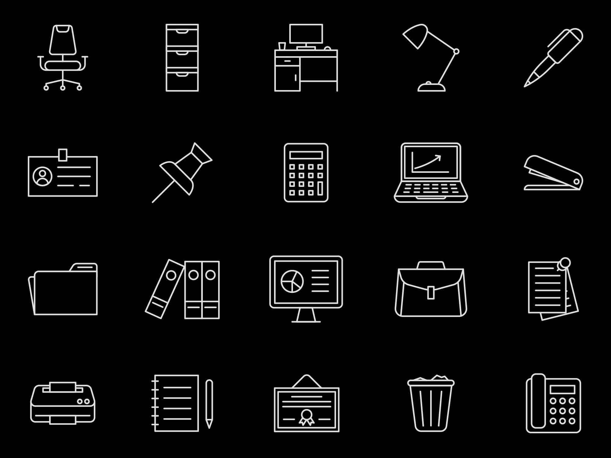 Office Vector Icons 2