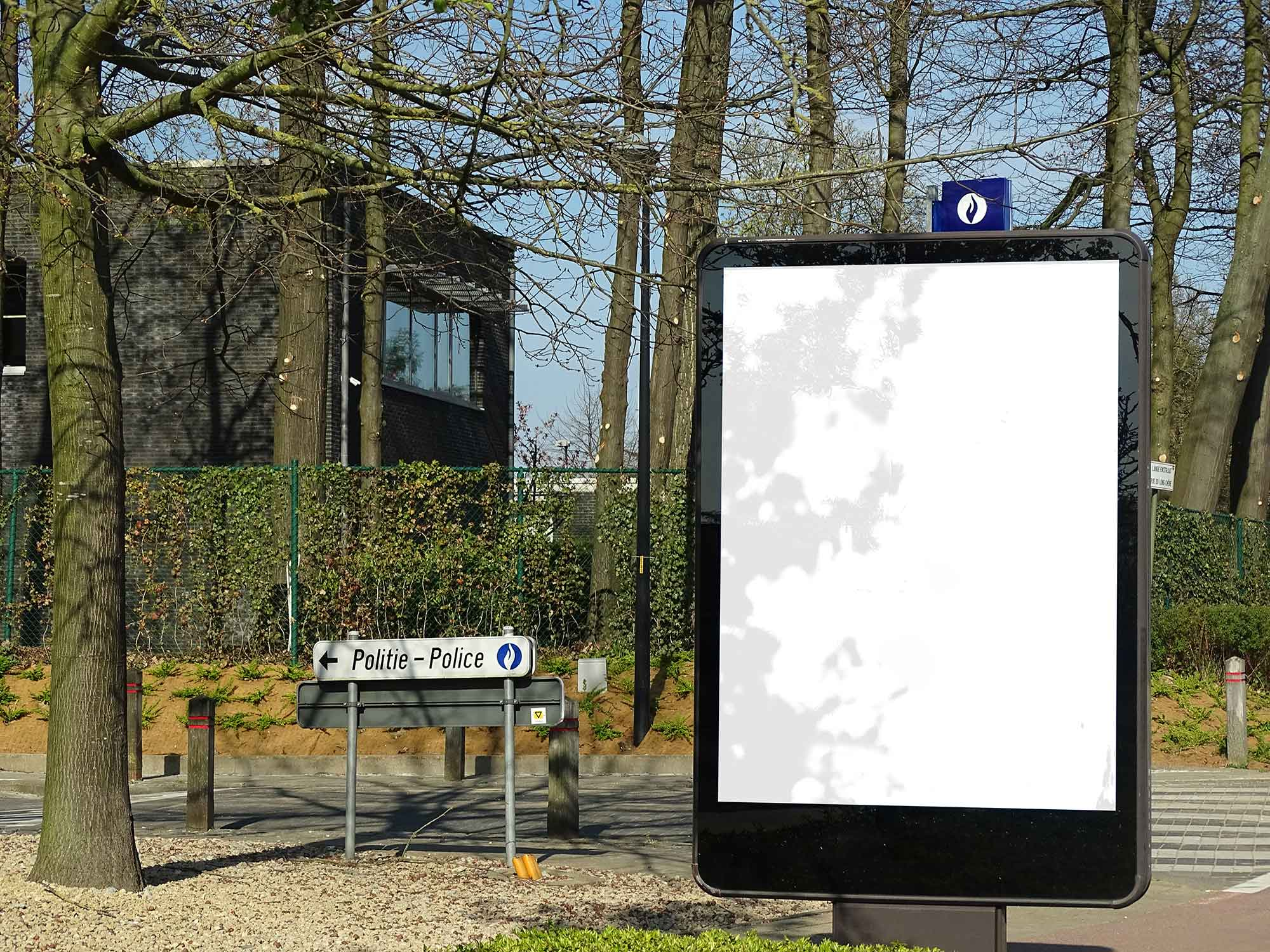 Outdoor Advertisement Mockup 2