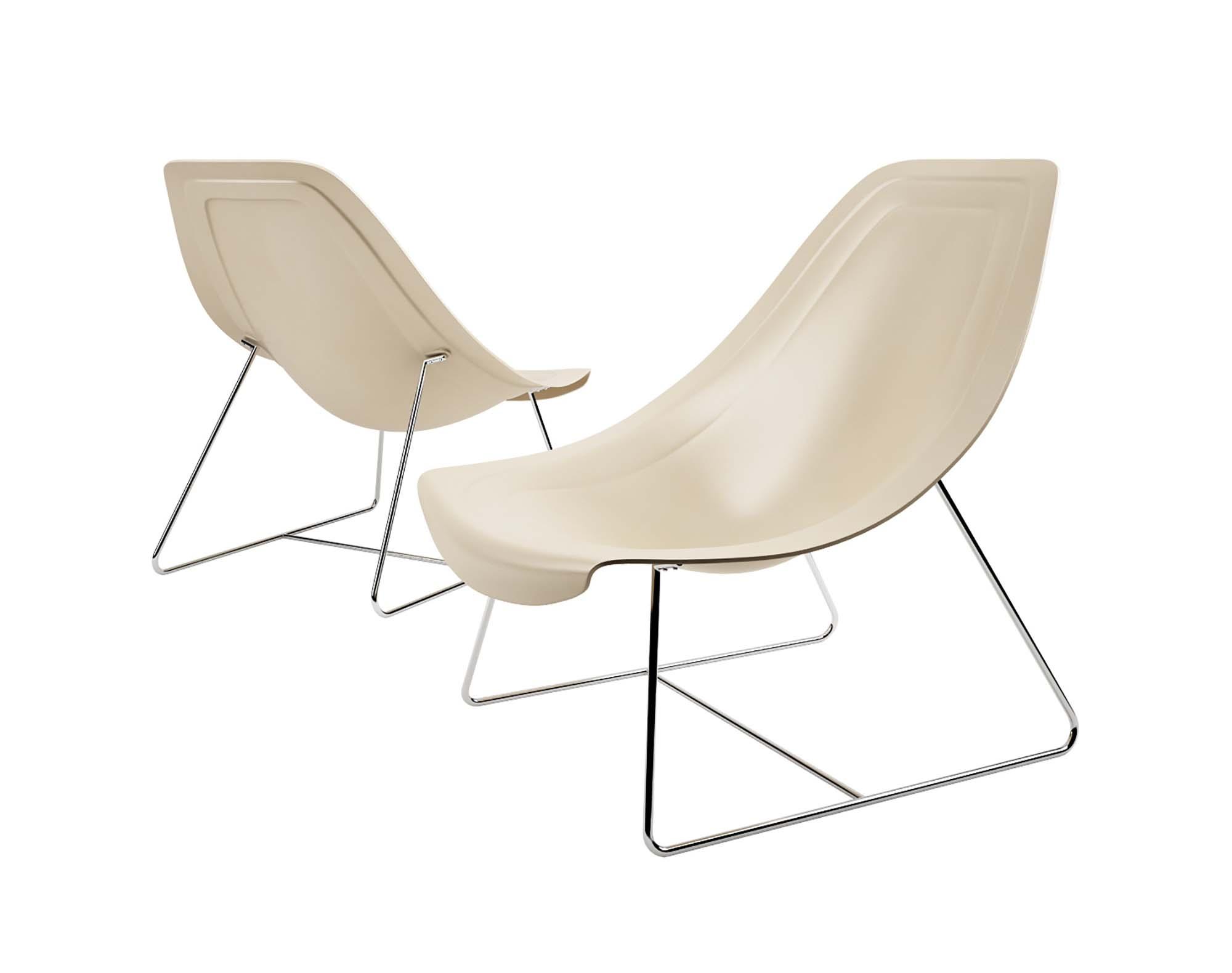 Oyster Light Armchair 3D Model