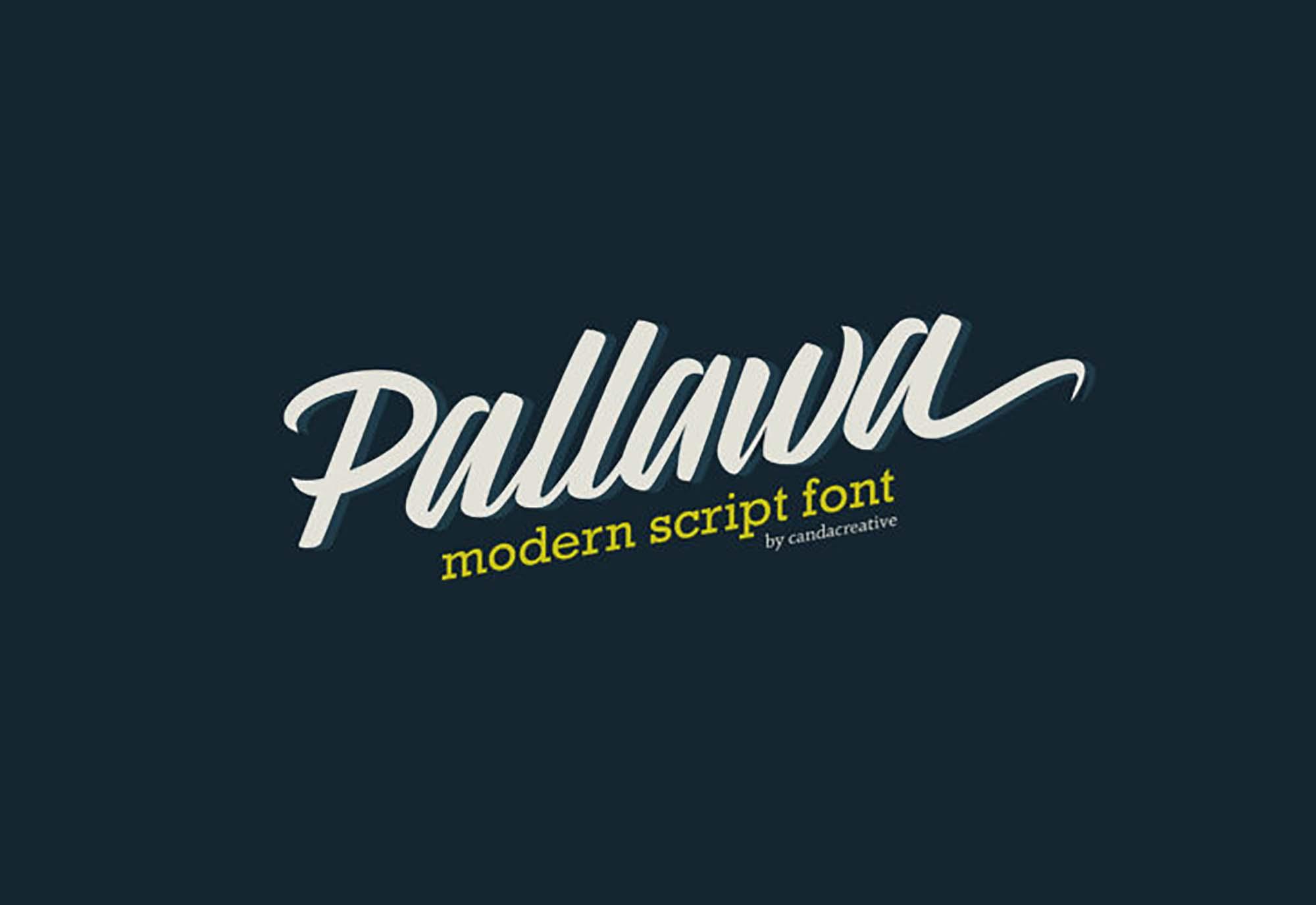 Pallawa Script Font
