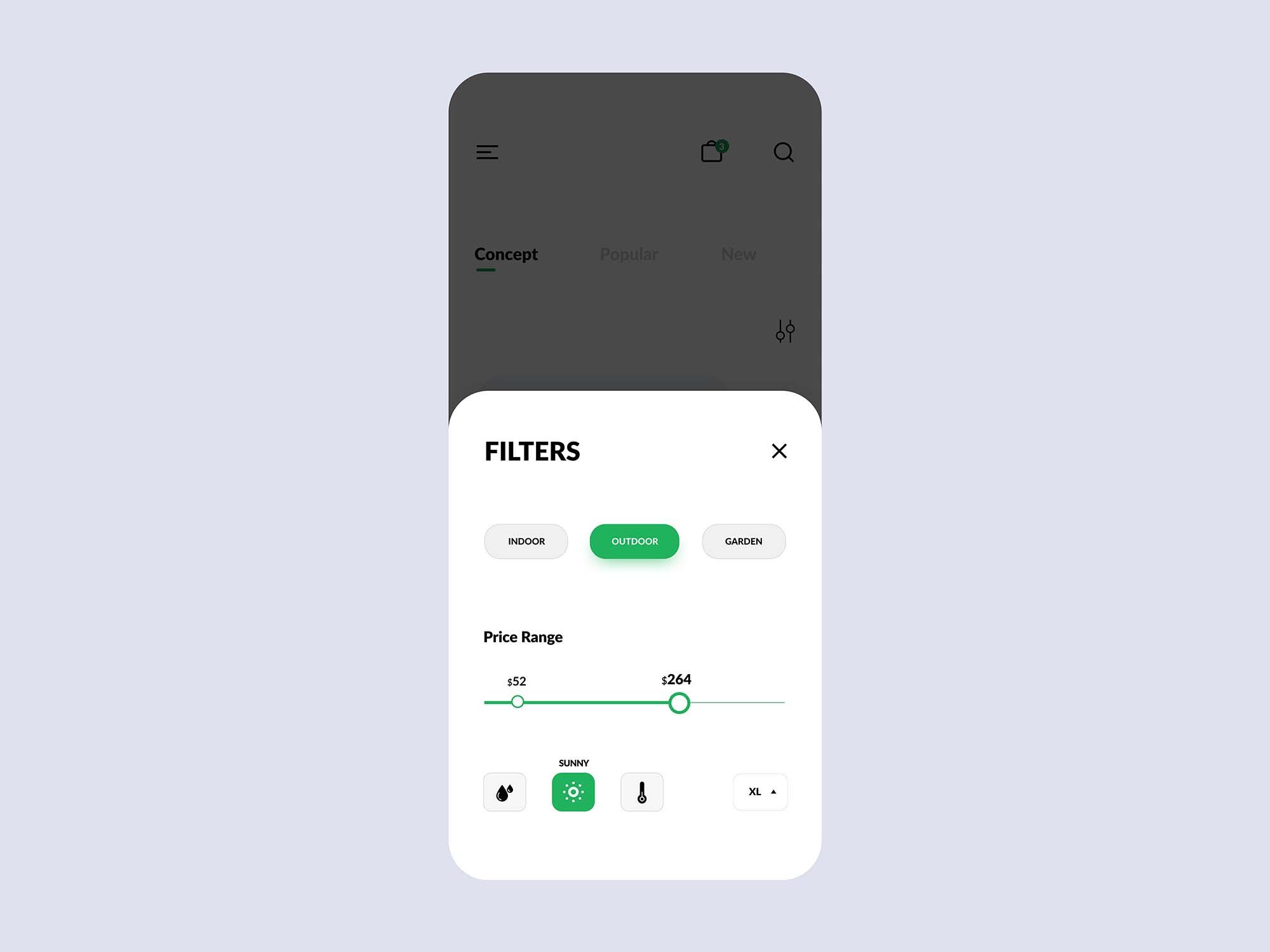 Plant Shop E-commerce App Template 1