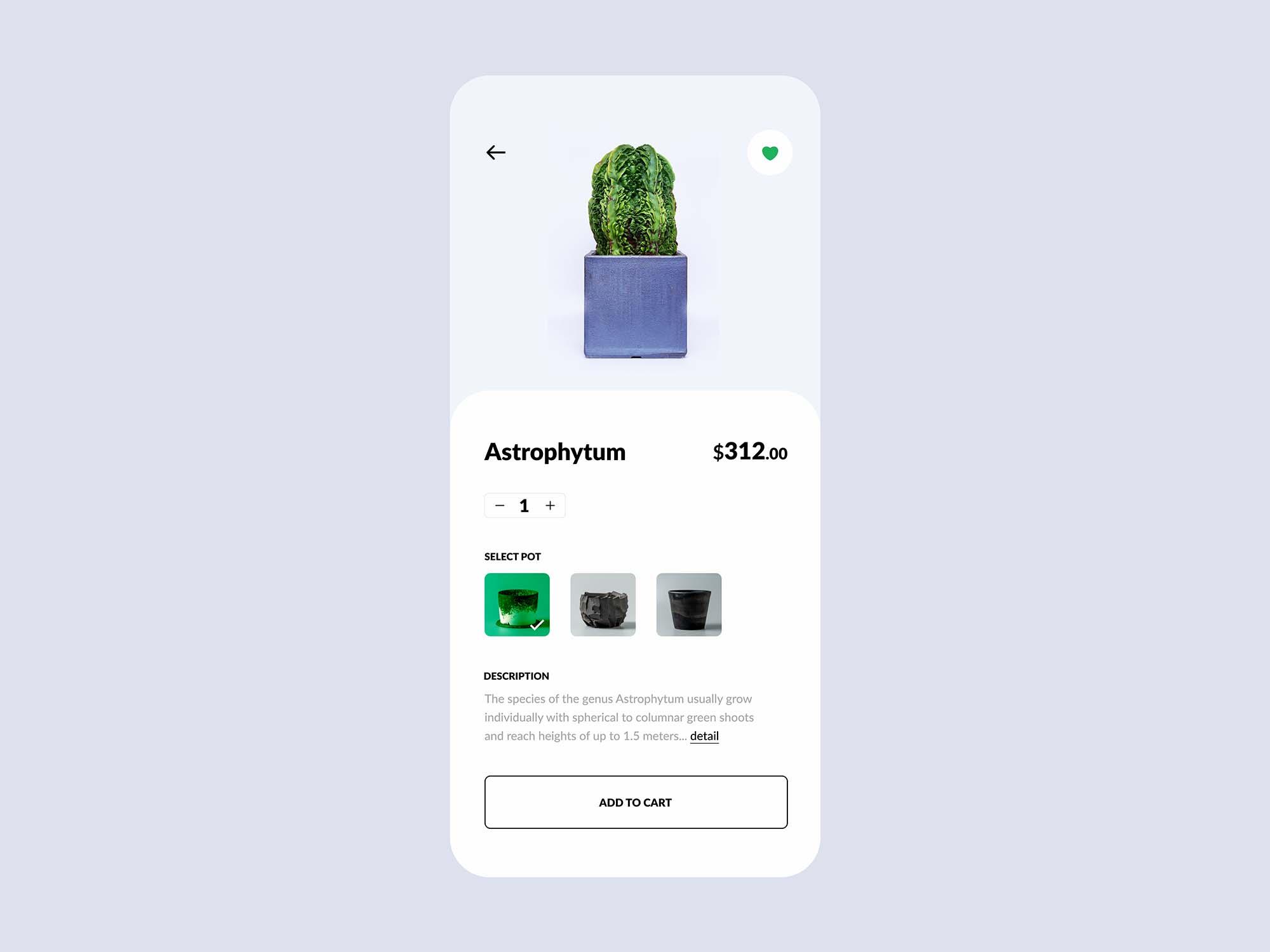 Plant Shop E-commerce App Template 3