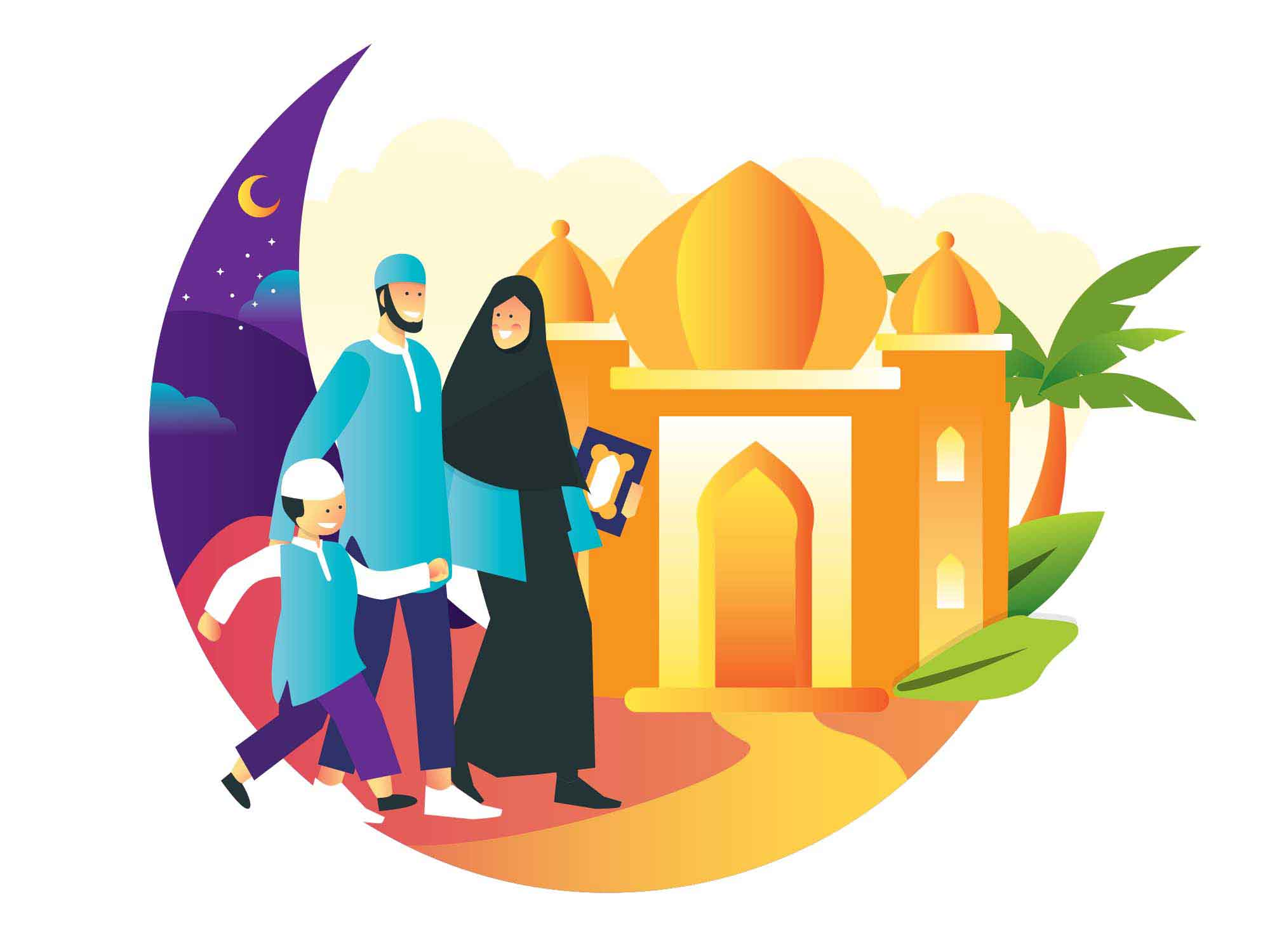 Ramadan Vector Illustration