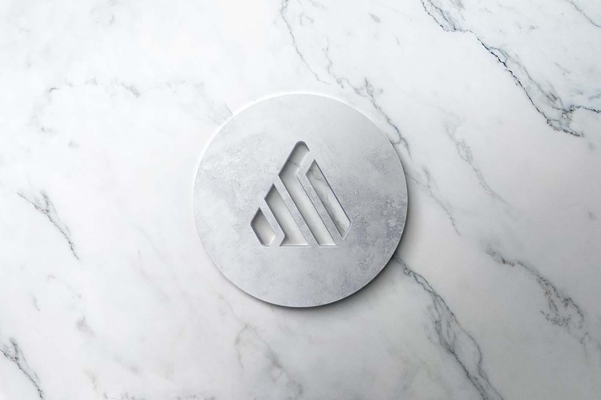 Realistic 3D Logo Mockup 3