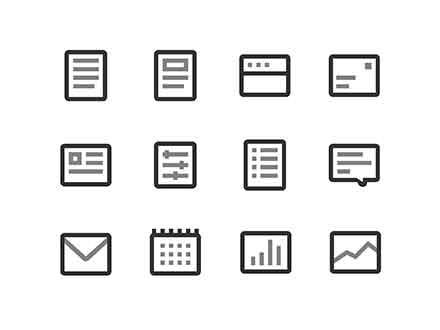 Rectangle Figma Icons