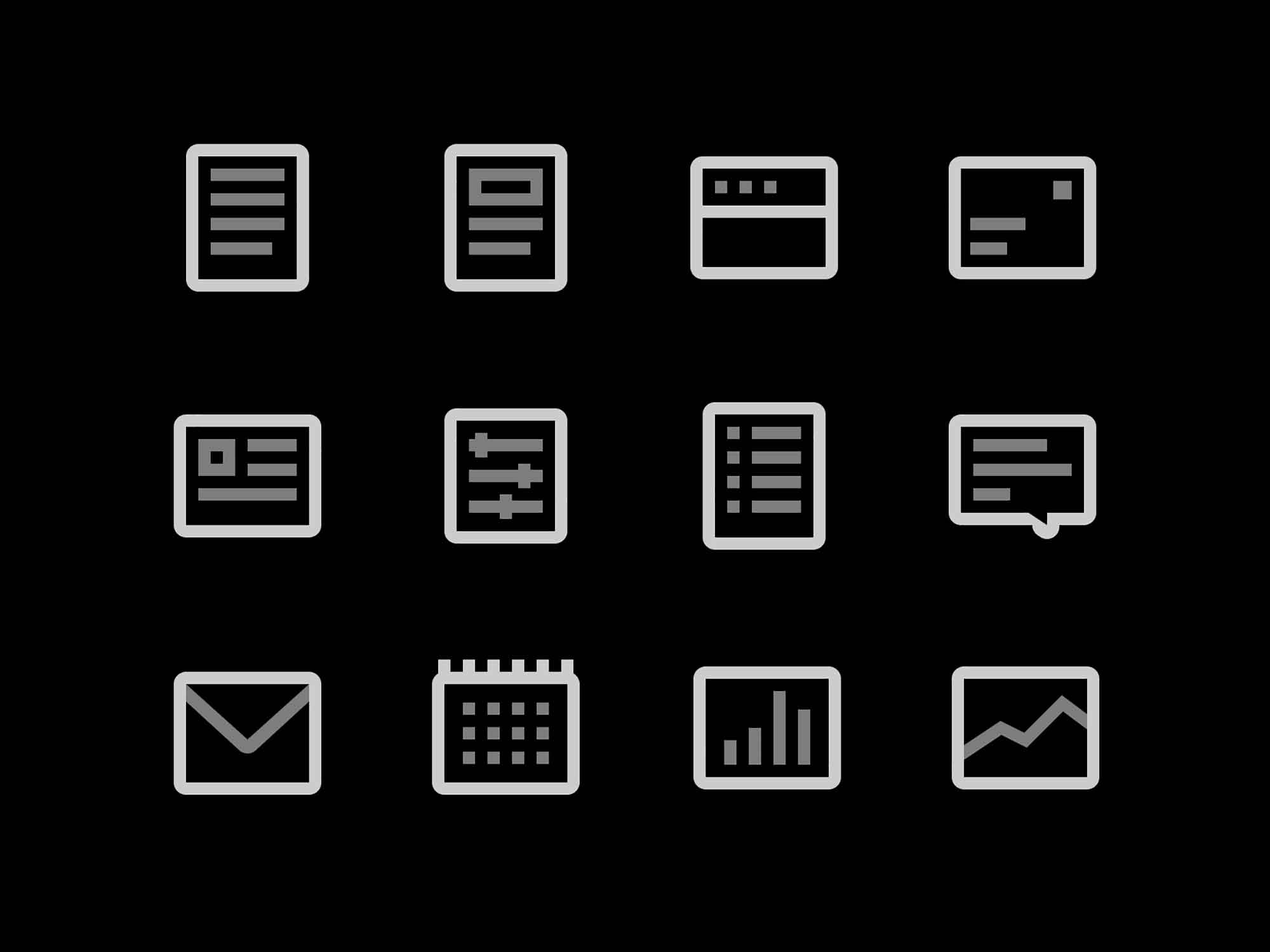 Rectangle Figma Icons 2