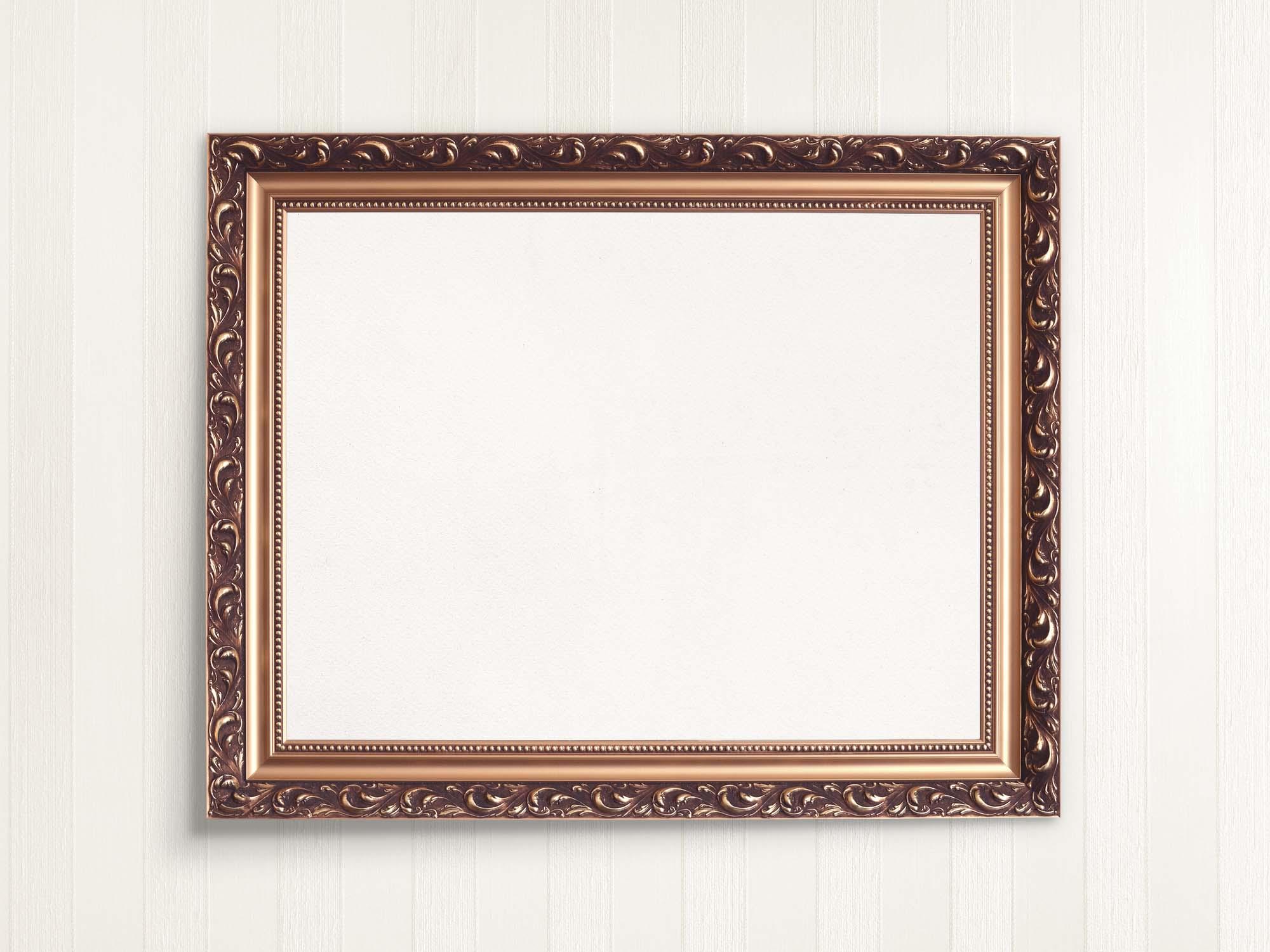 Royally Wooden Frame Mockup 2