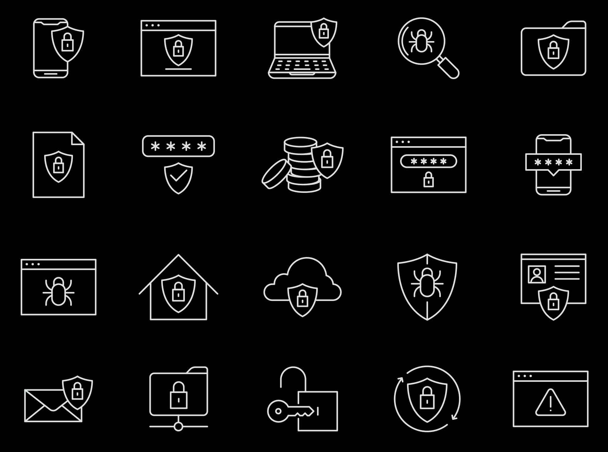 Security Vector Icons 2