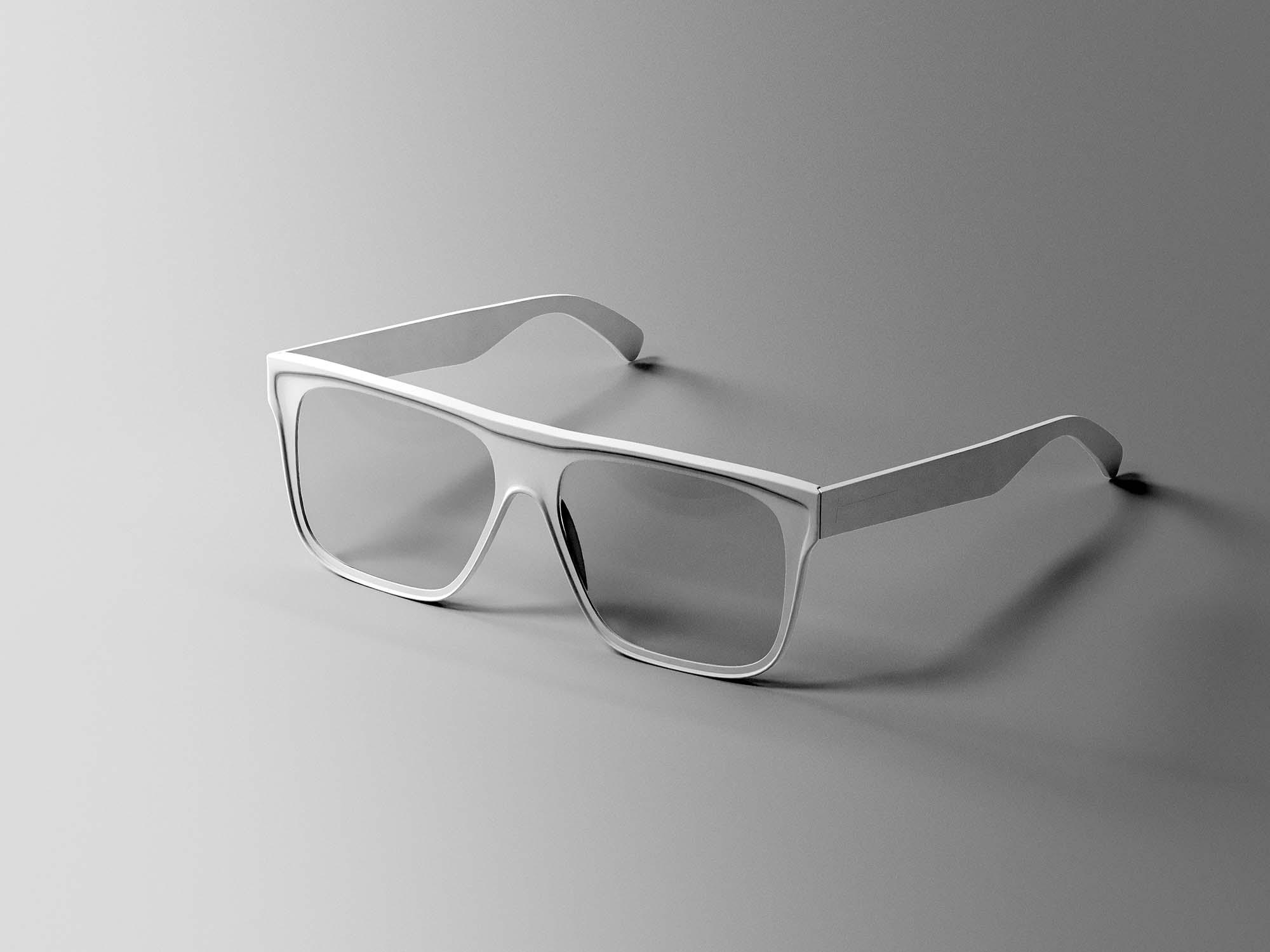 Simple Glasses Mockup 2