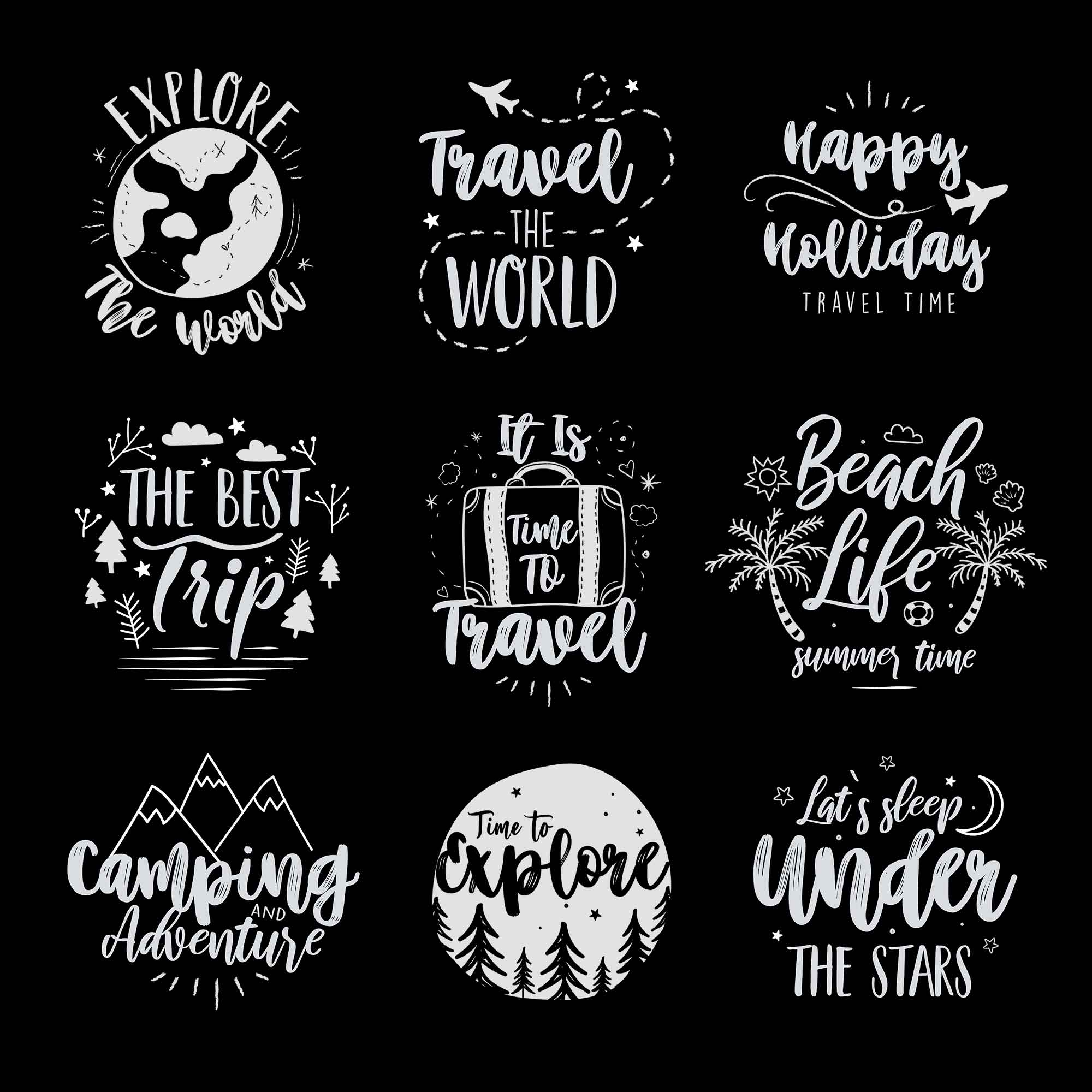Travel Logo Templates 2