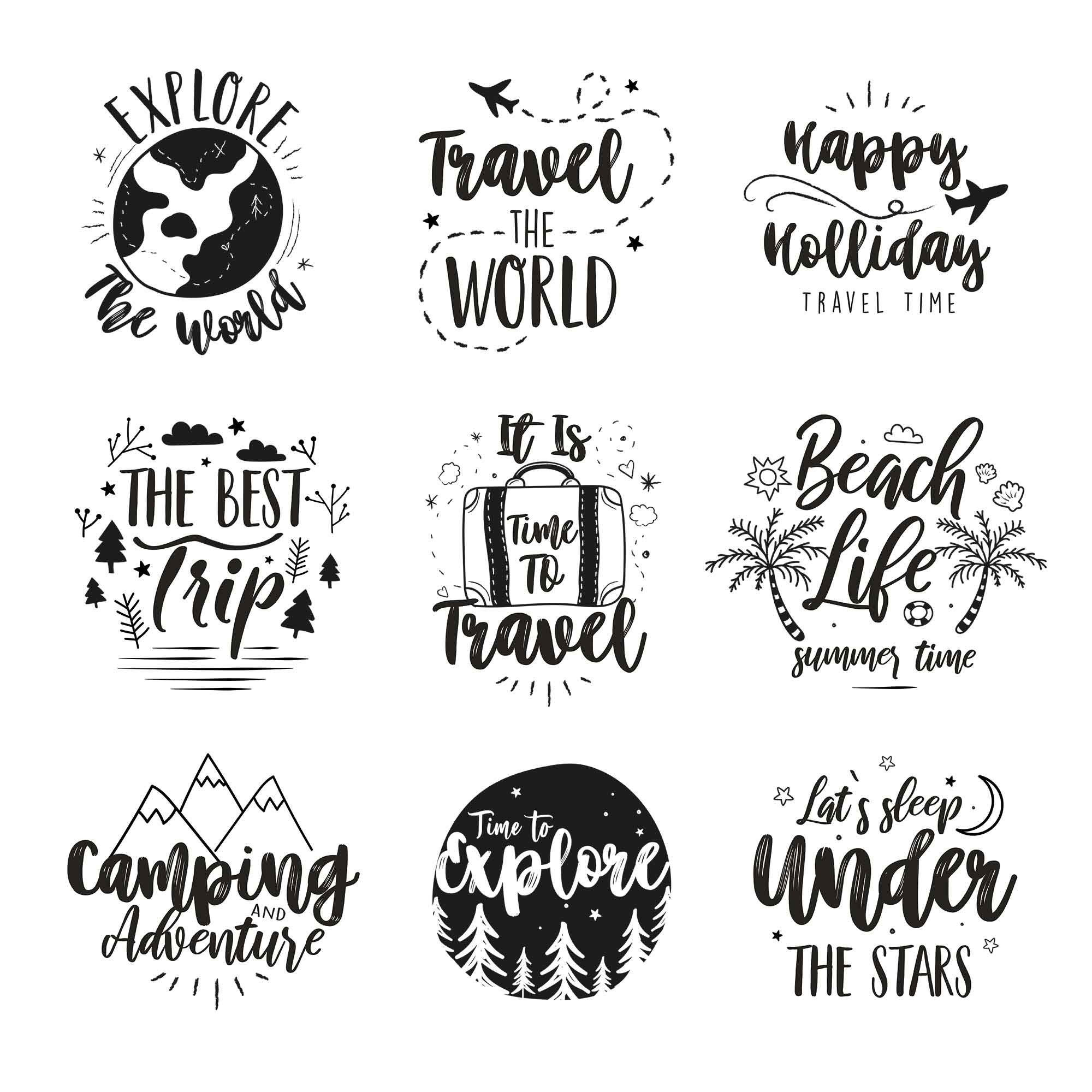 Travel Logo Templates
