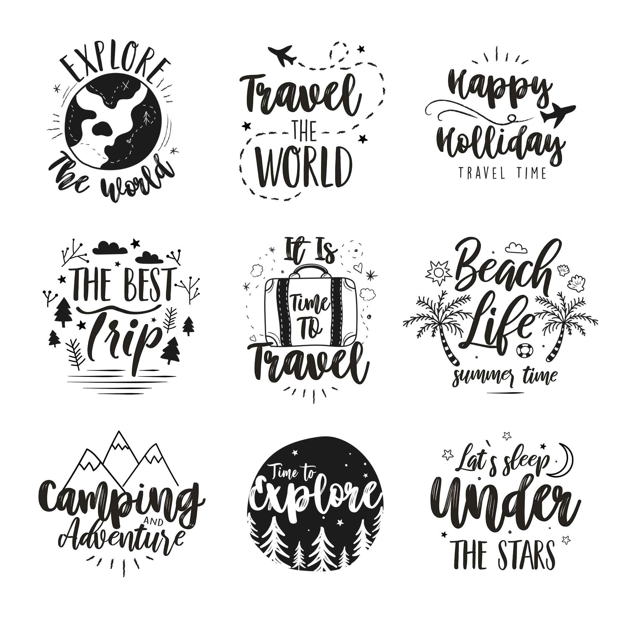 9 Free Travel Logo Templates (AI, PSD)