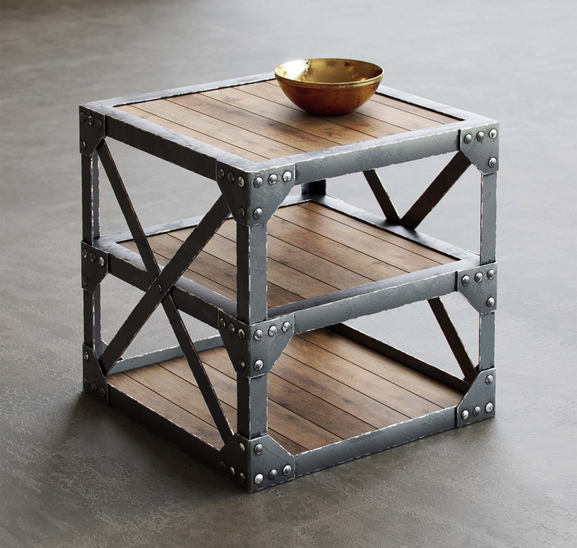 Vintage Table 3D Model