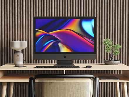 iMac Pro Screen Mockup
