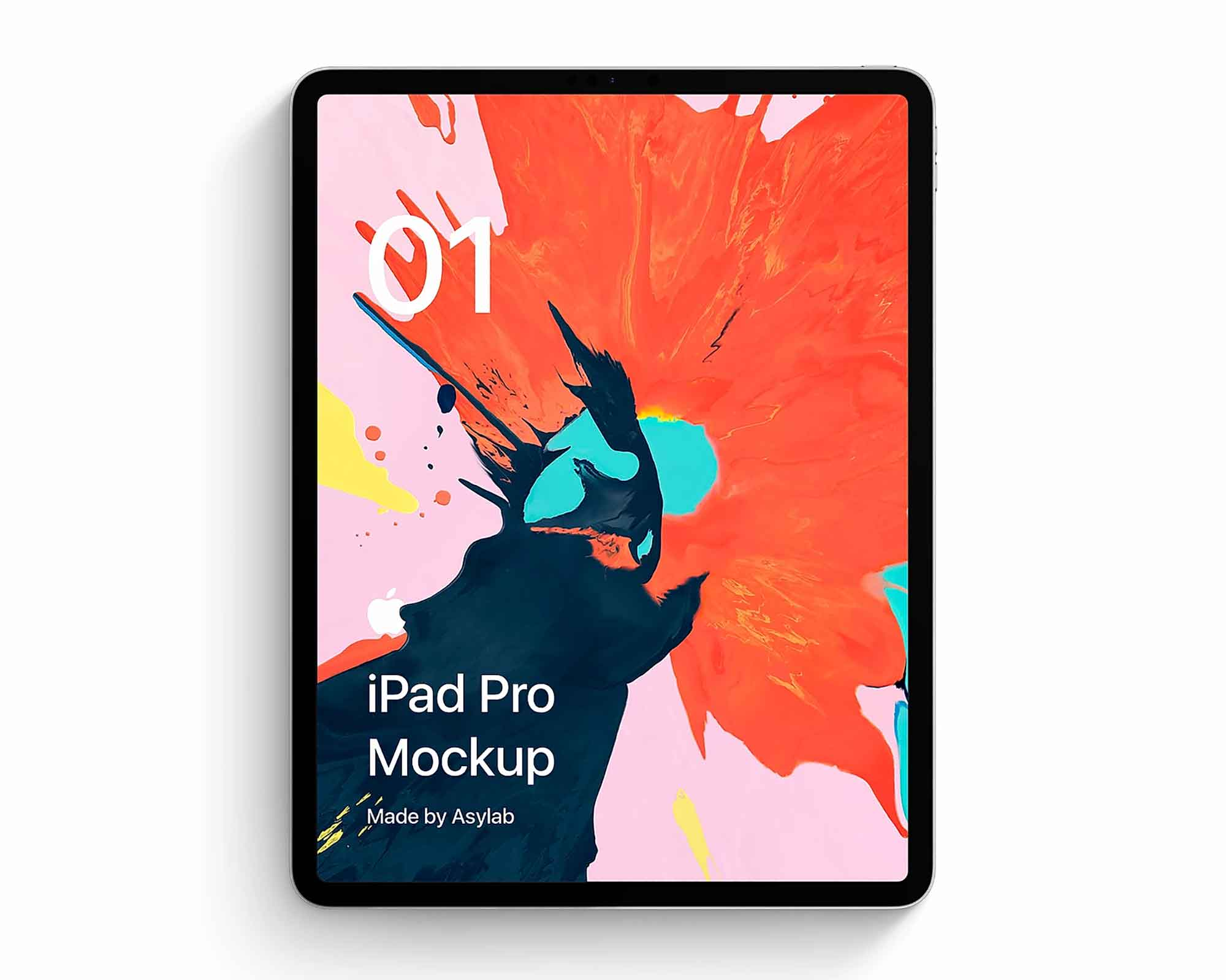 iPad Pro Front Mockup 2