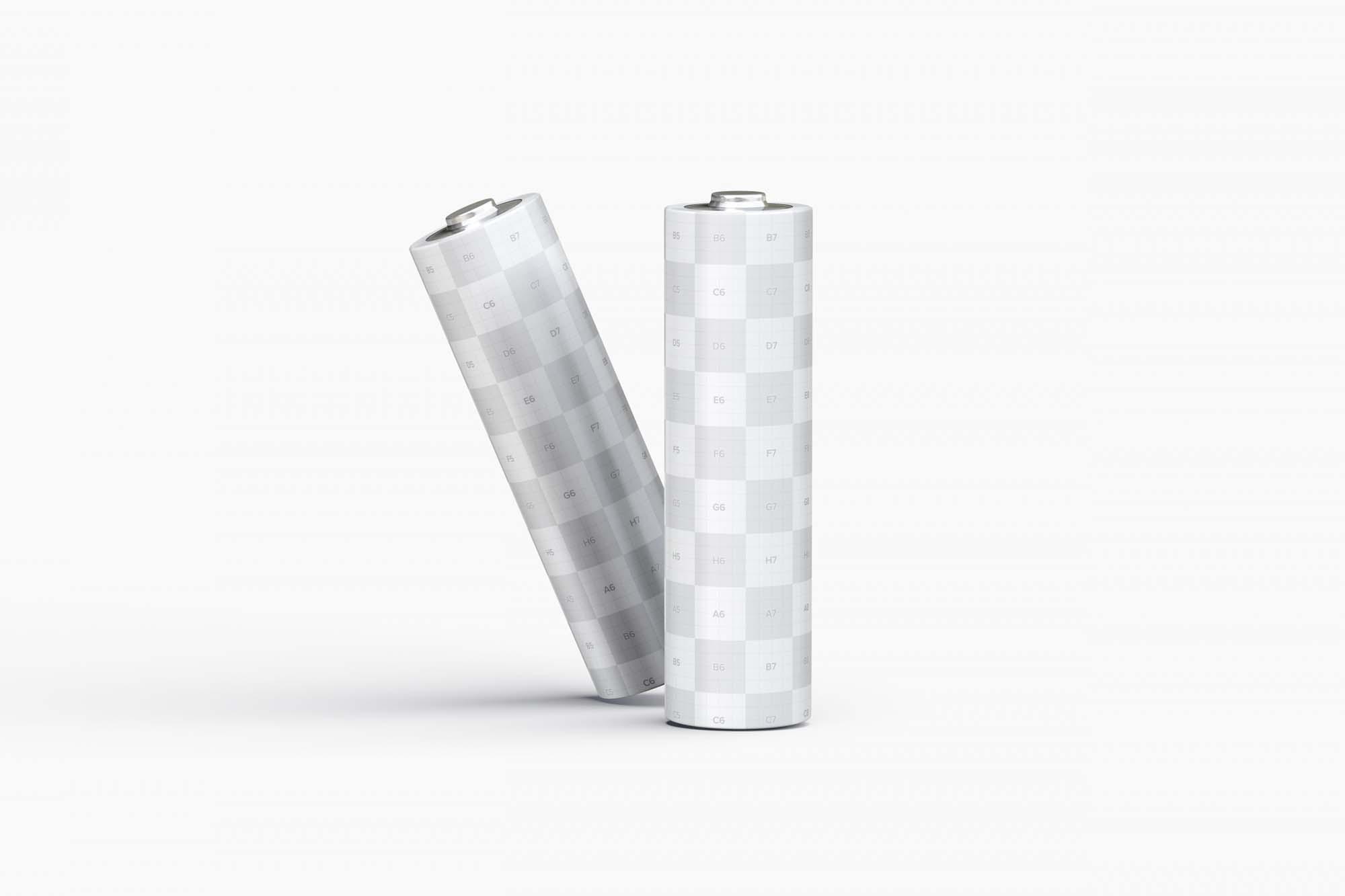 AA Batteries Mockup 2